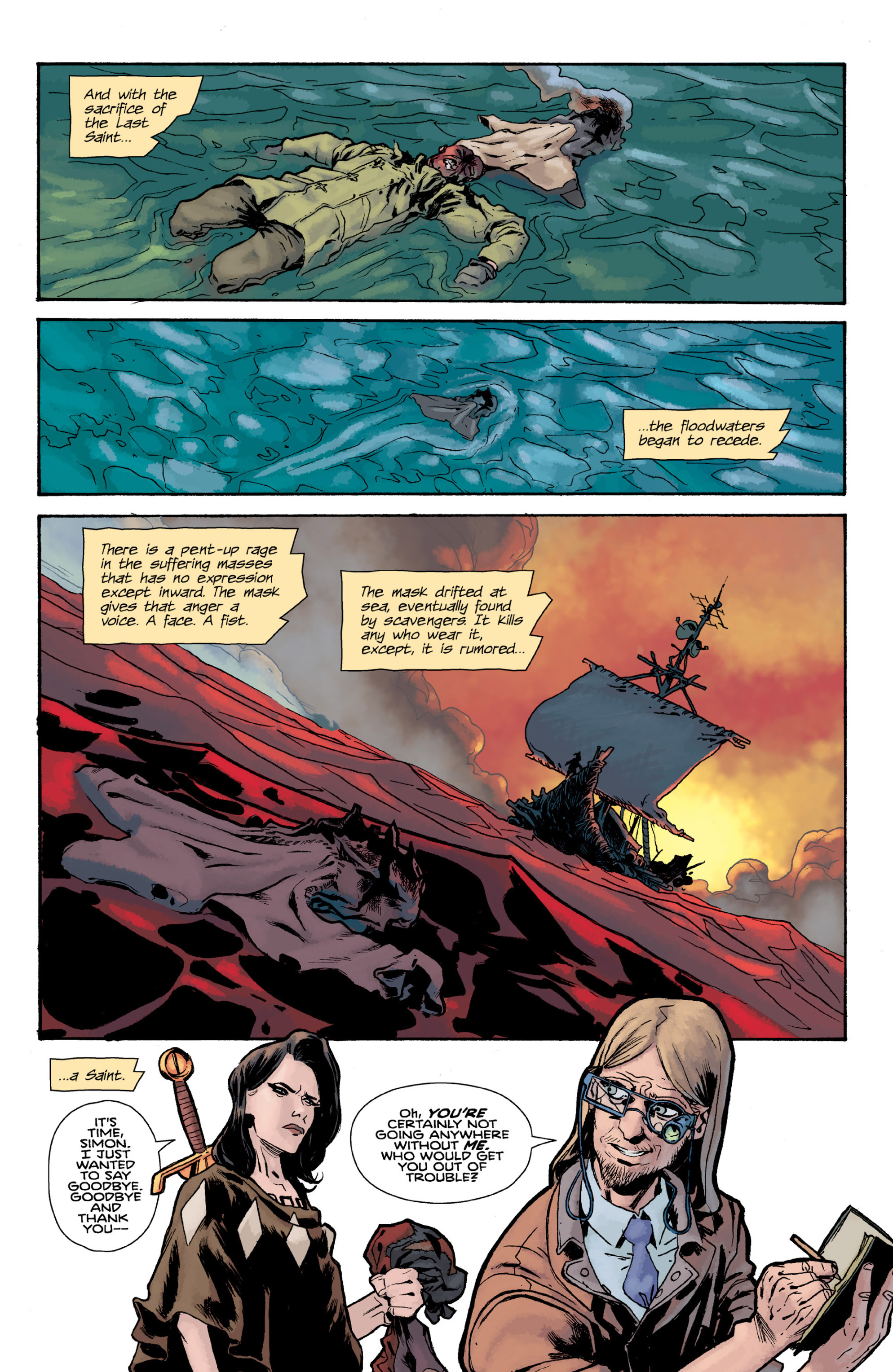 Read online Orchid comic -  Issue # TPB 3 - 11