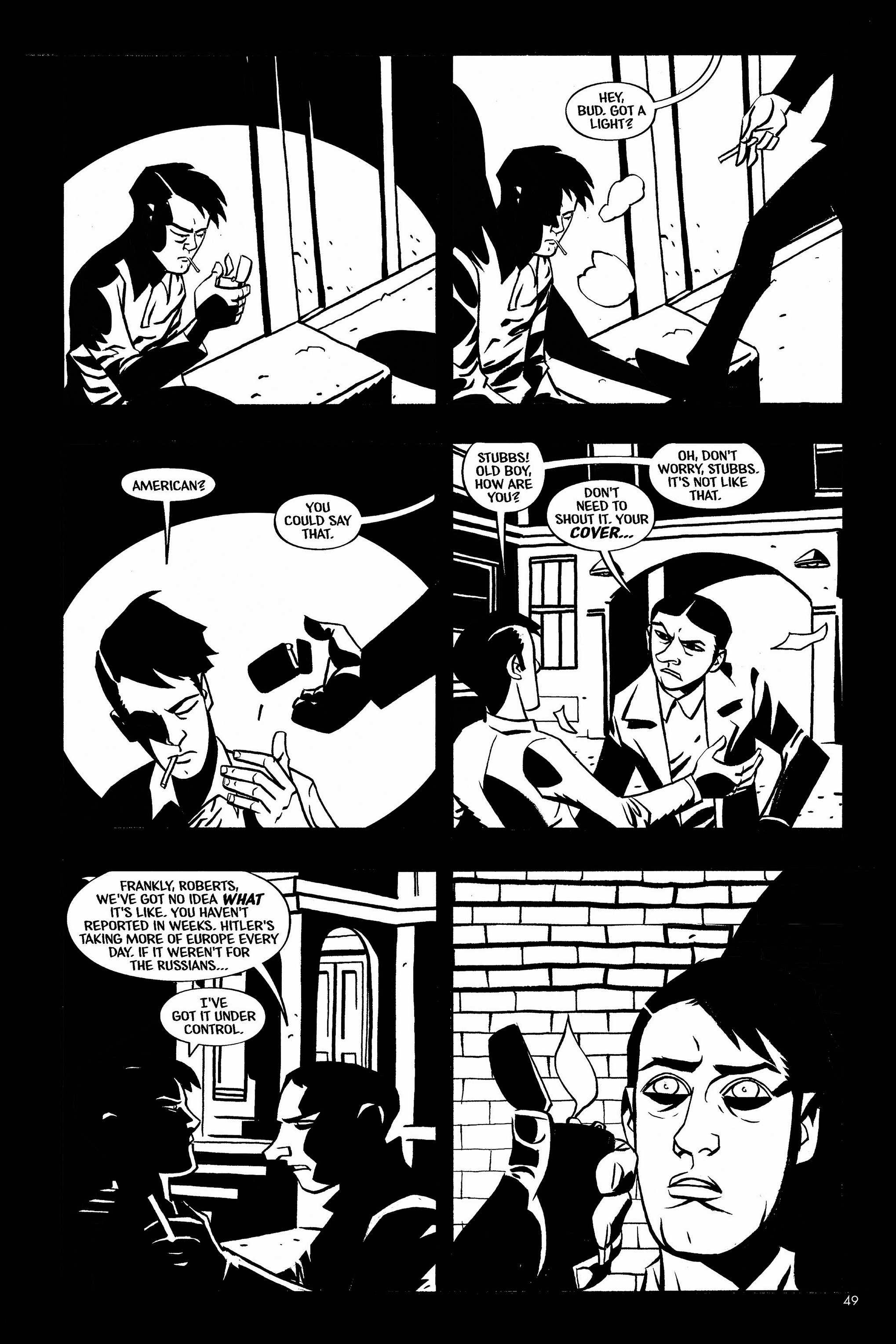 Read online Aleister & Adolf comic -  Issue # TPB - 48