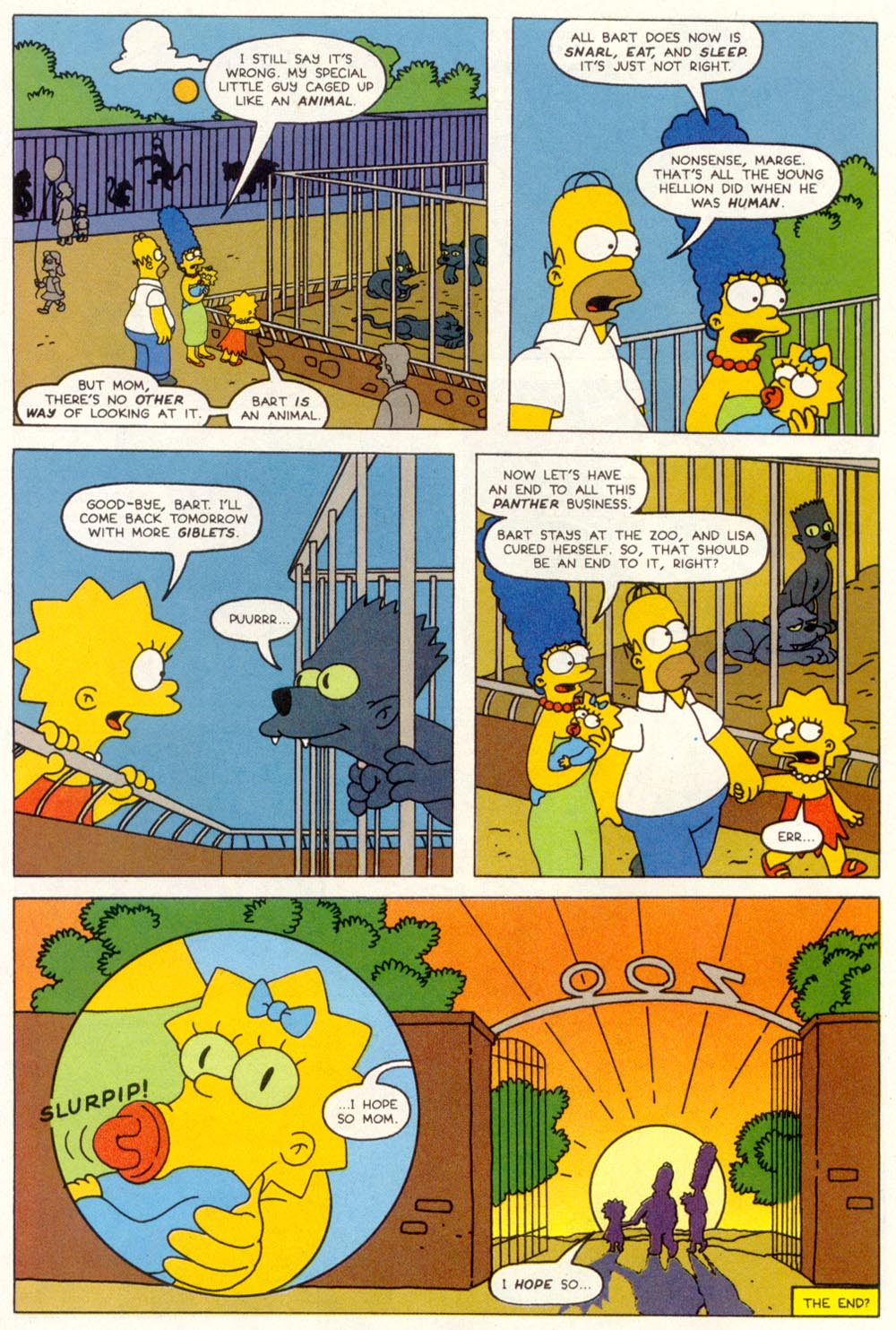 Read online Treehouse of Horror comic -  Issue #1 - 46