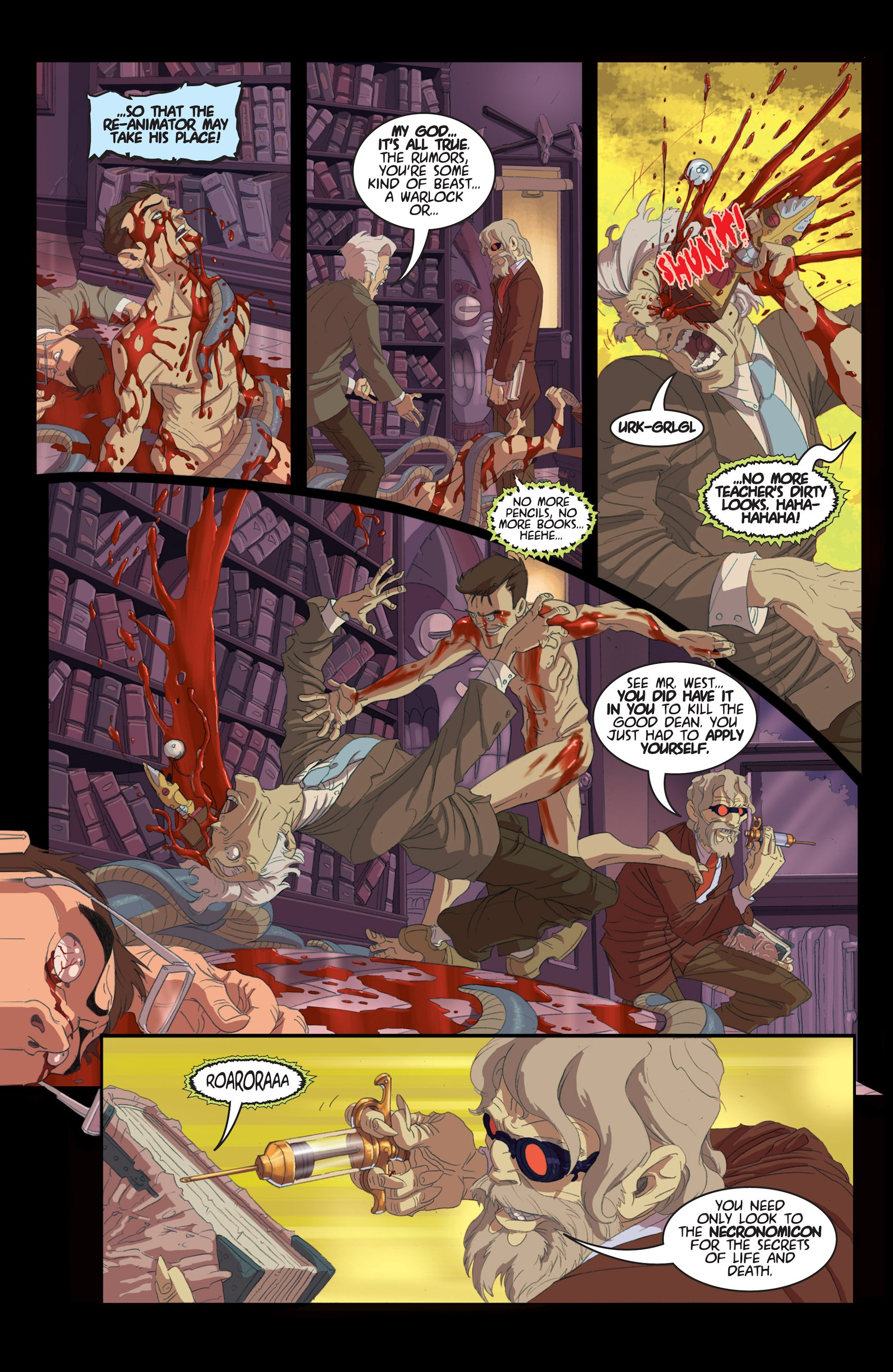 Read online Army of Darkness/Reanimator comic -  Issue #Army of Darkness/Reanimator Full - 41