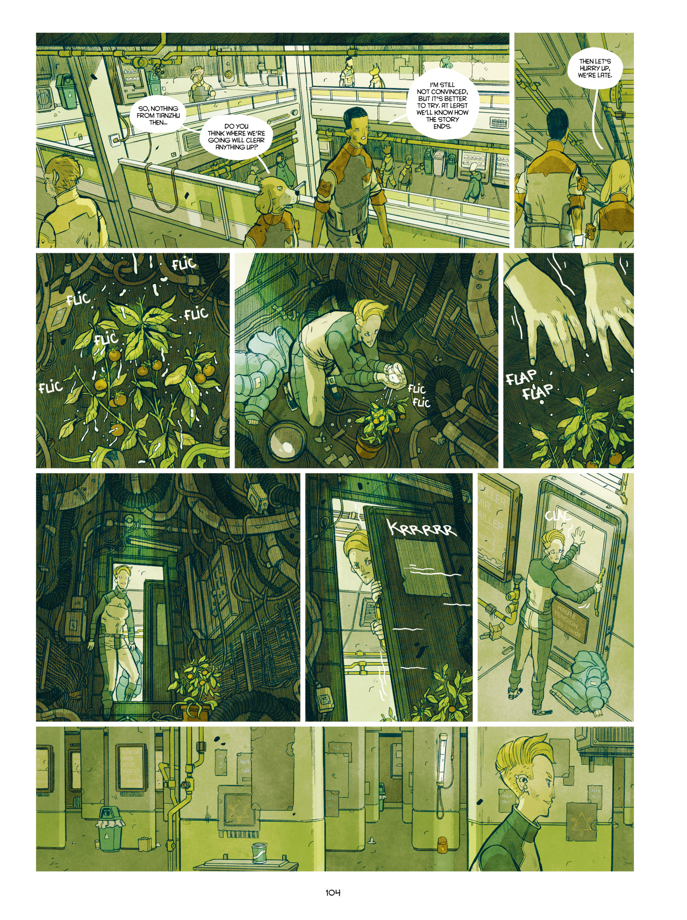 Read online Shangri-La comic -  Issue # Full - 105