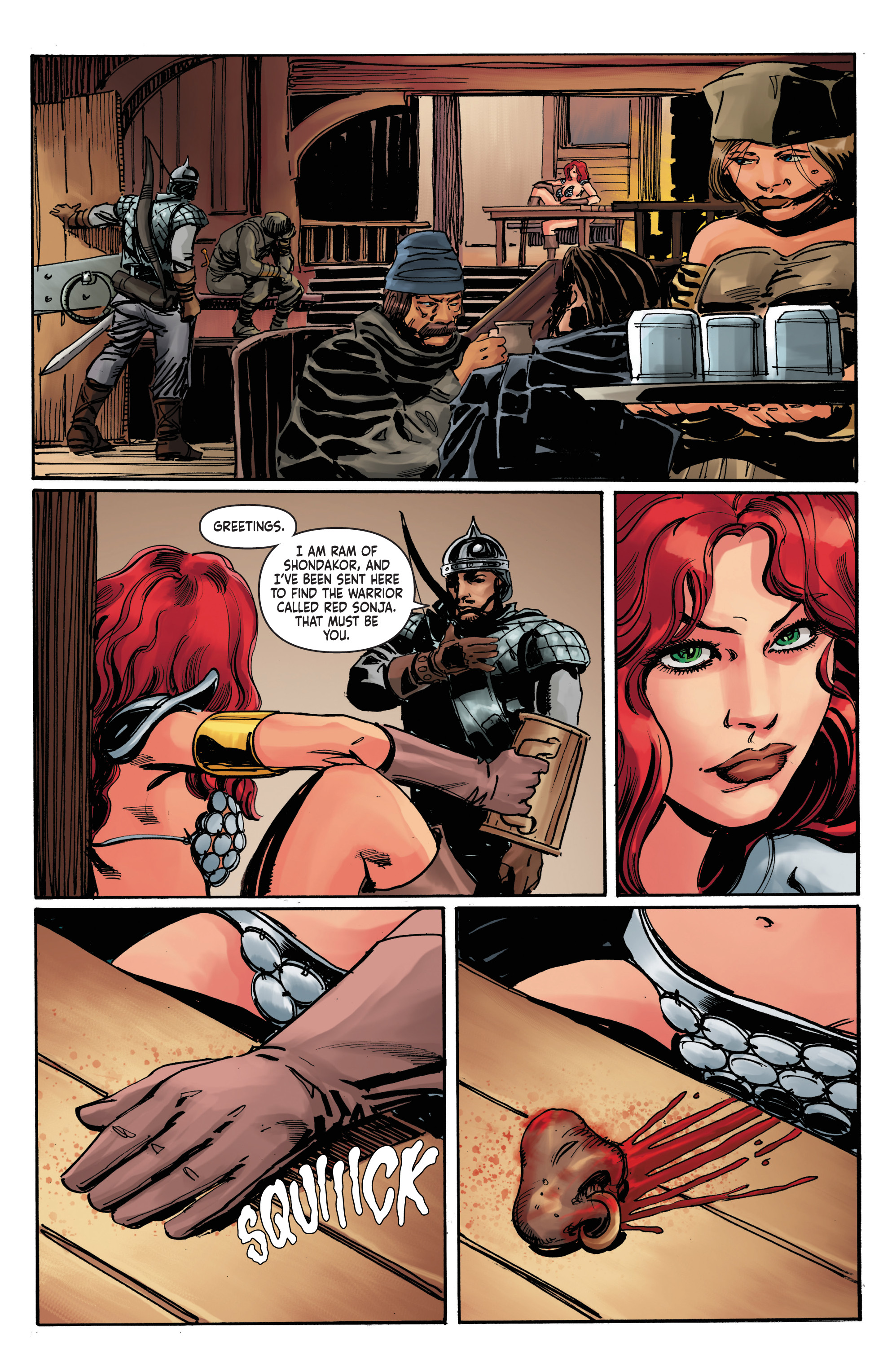 Read online Red Sonja: The Long Walk To Oblivion comic -  Issue # Full - 6