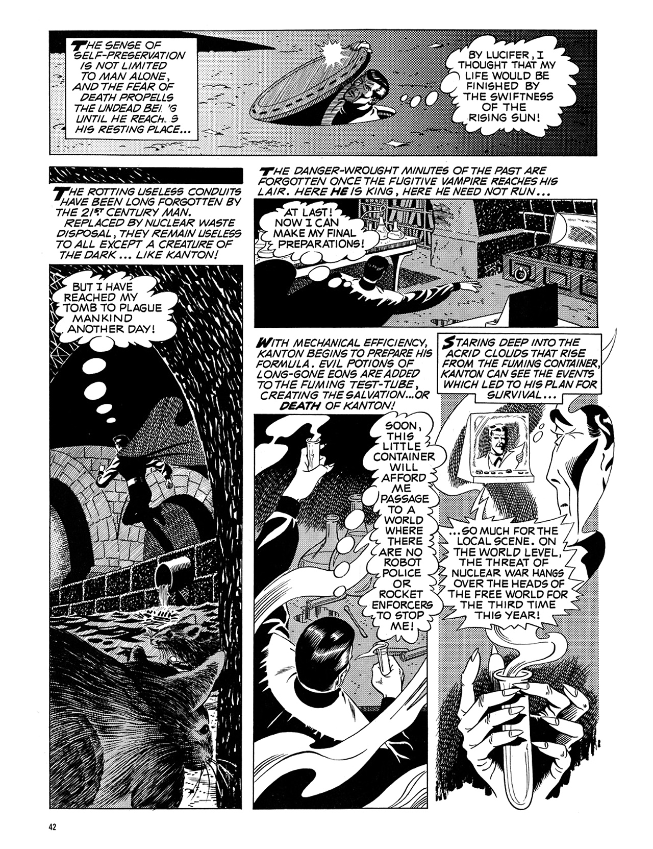 Read online Eerie Archives comic -  Issue # TPB 5 - 43