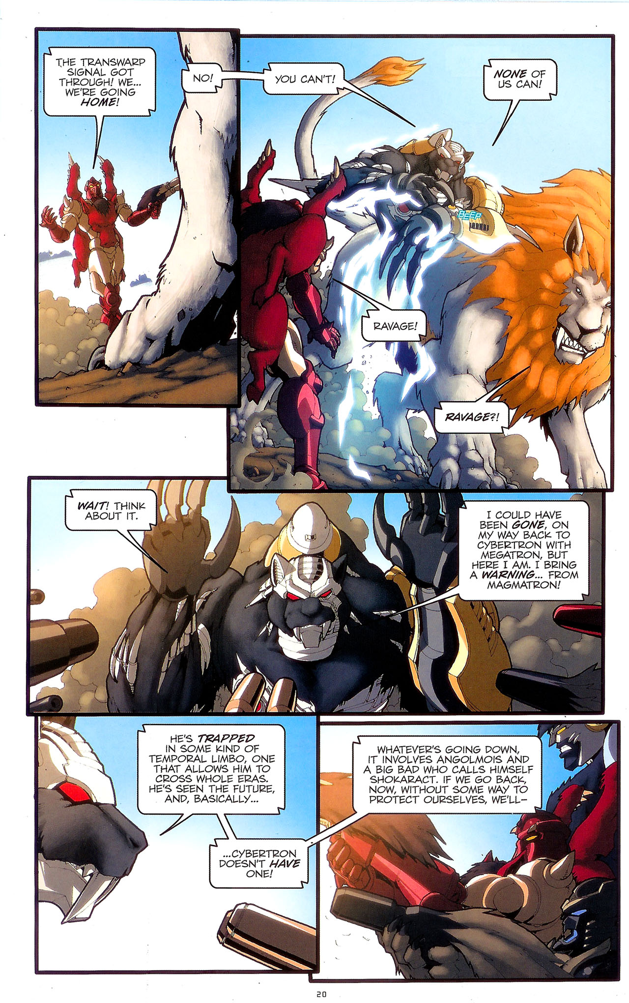 Read online Transformers: Beast Wars: The Ascending comic -  Issue #2 - 23