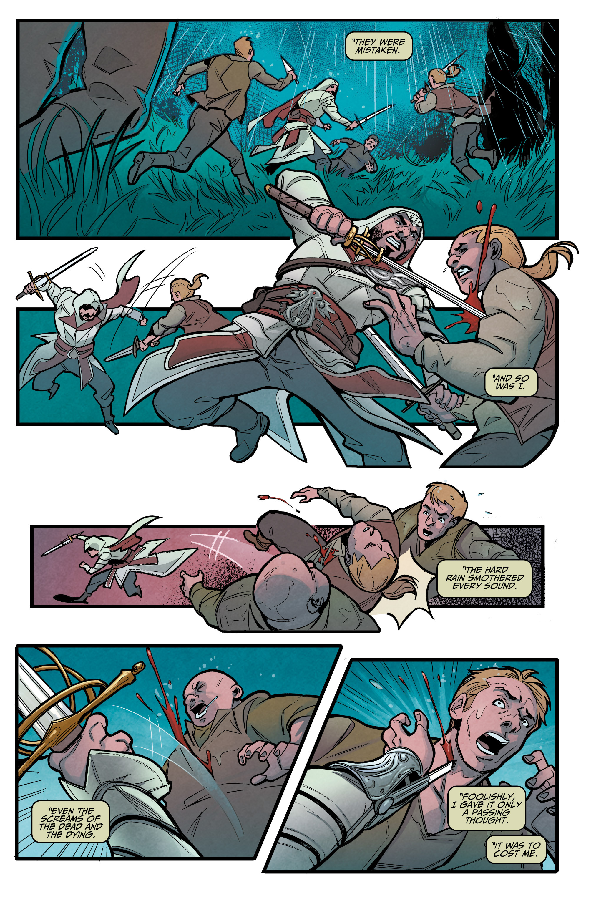 Read online Assassin's Creed: Reflections comic -  Issue #1 - 10
