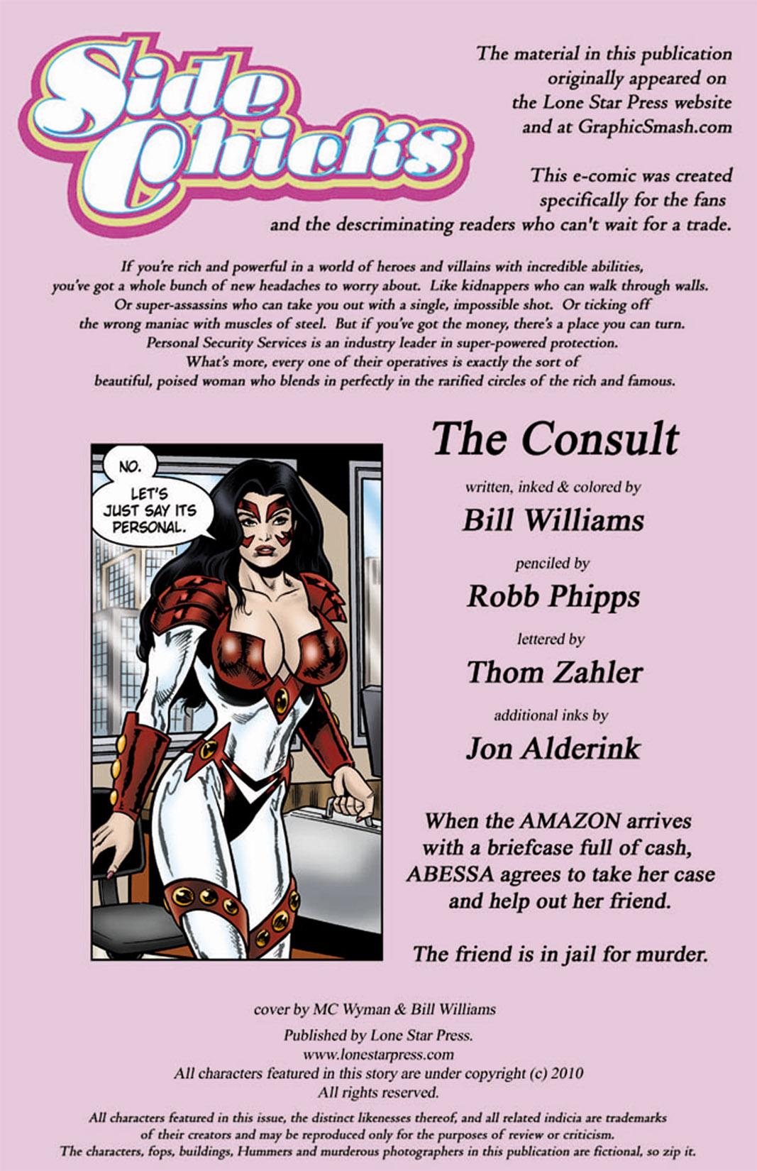 Read online SideChicks comic -  Issue #4 - 2