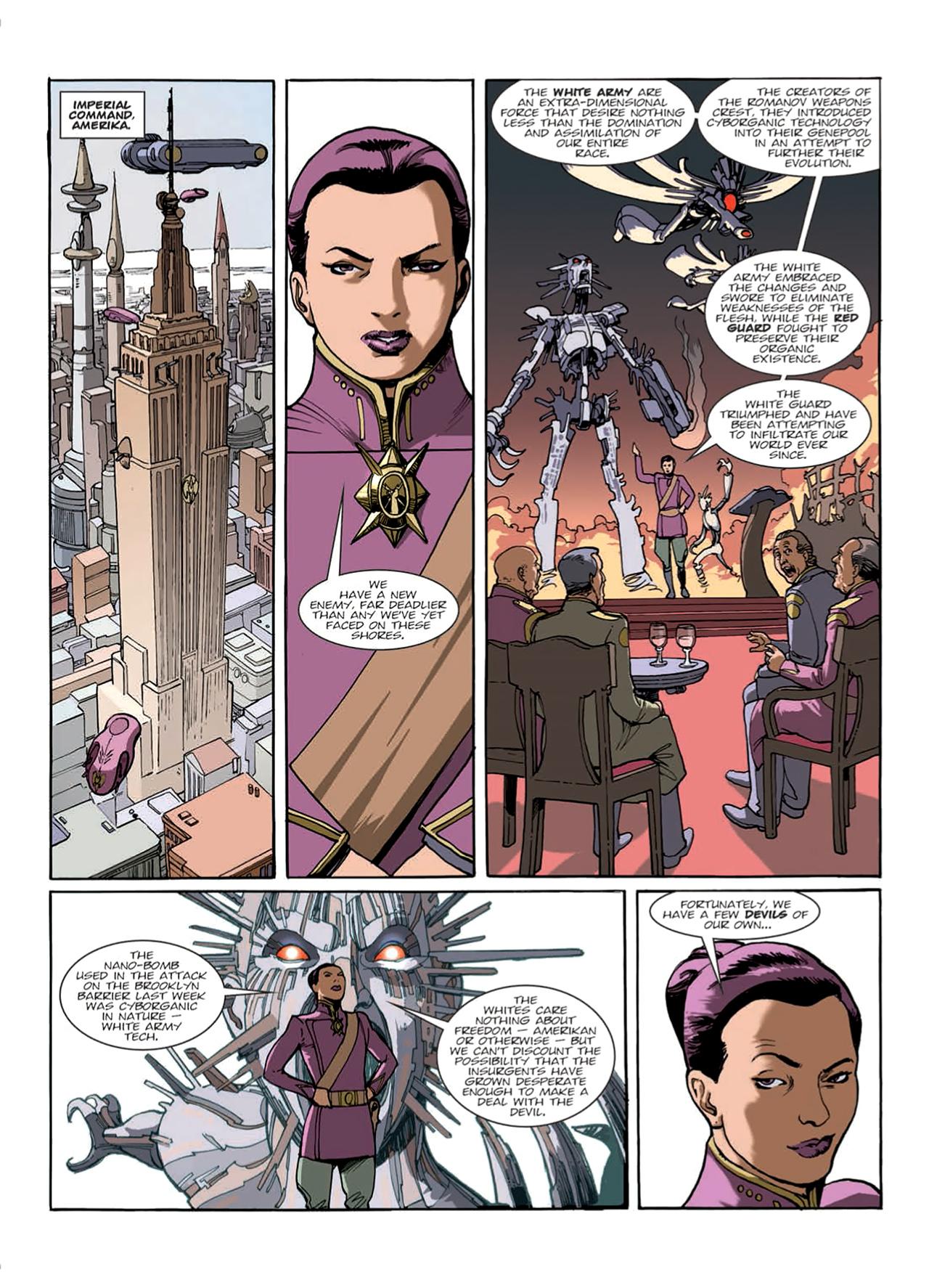 Read online Nikolai Dante comic -  Issue # TPB 9 - 32