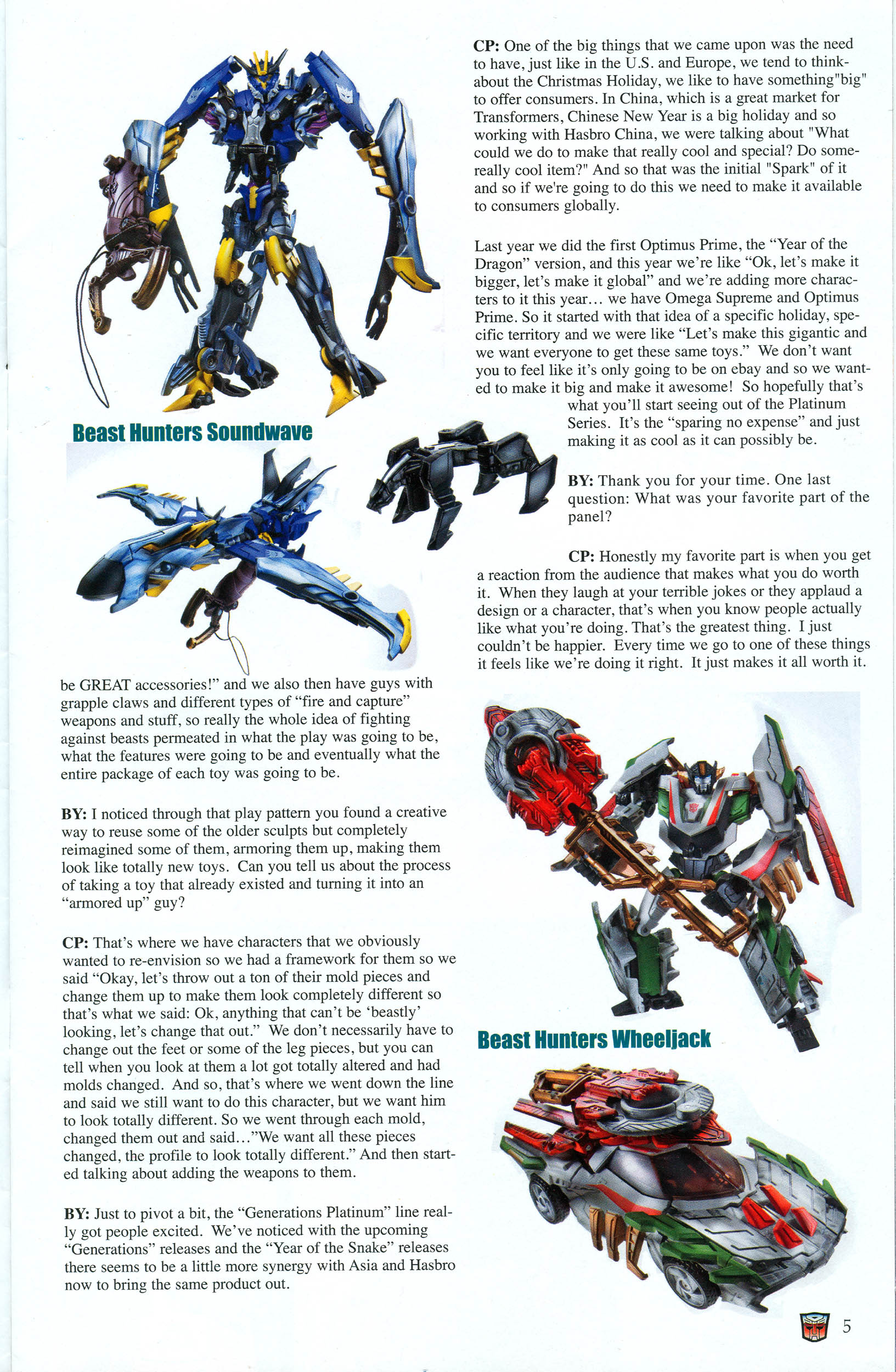 Read online Transformers: Collectors' Club comic -  Issue #48 - 5