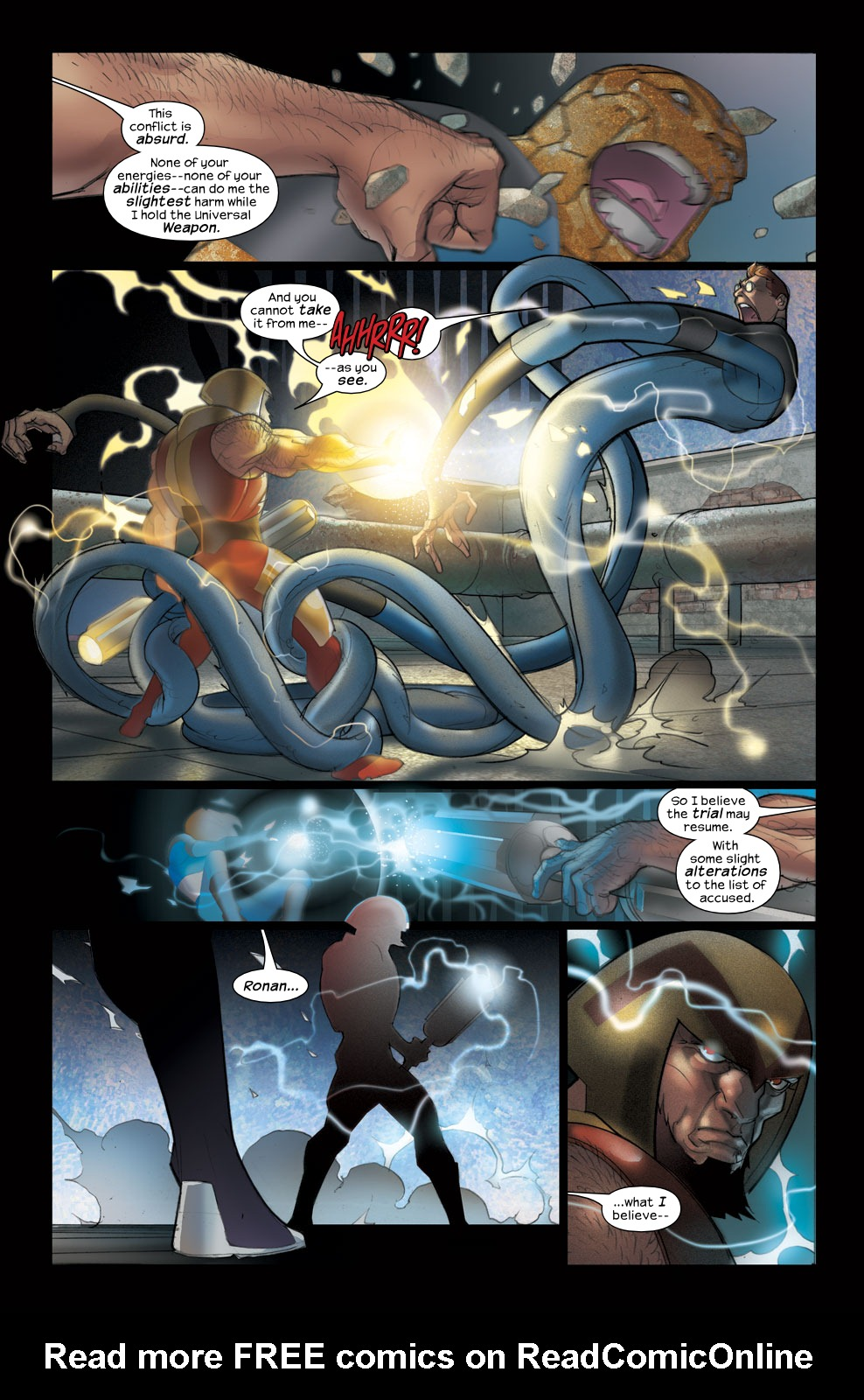 Read online Ultimate Fantastic Four (2004) comic -  Issue #38 - 13