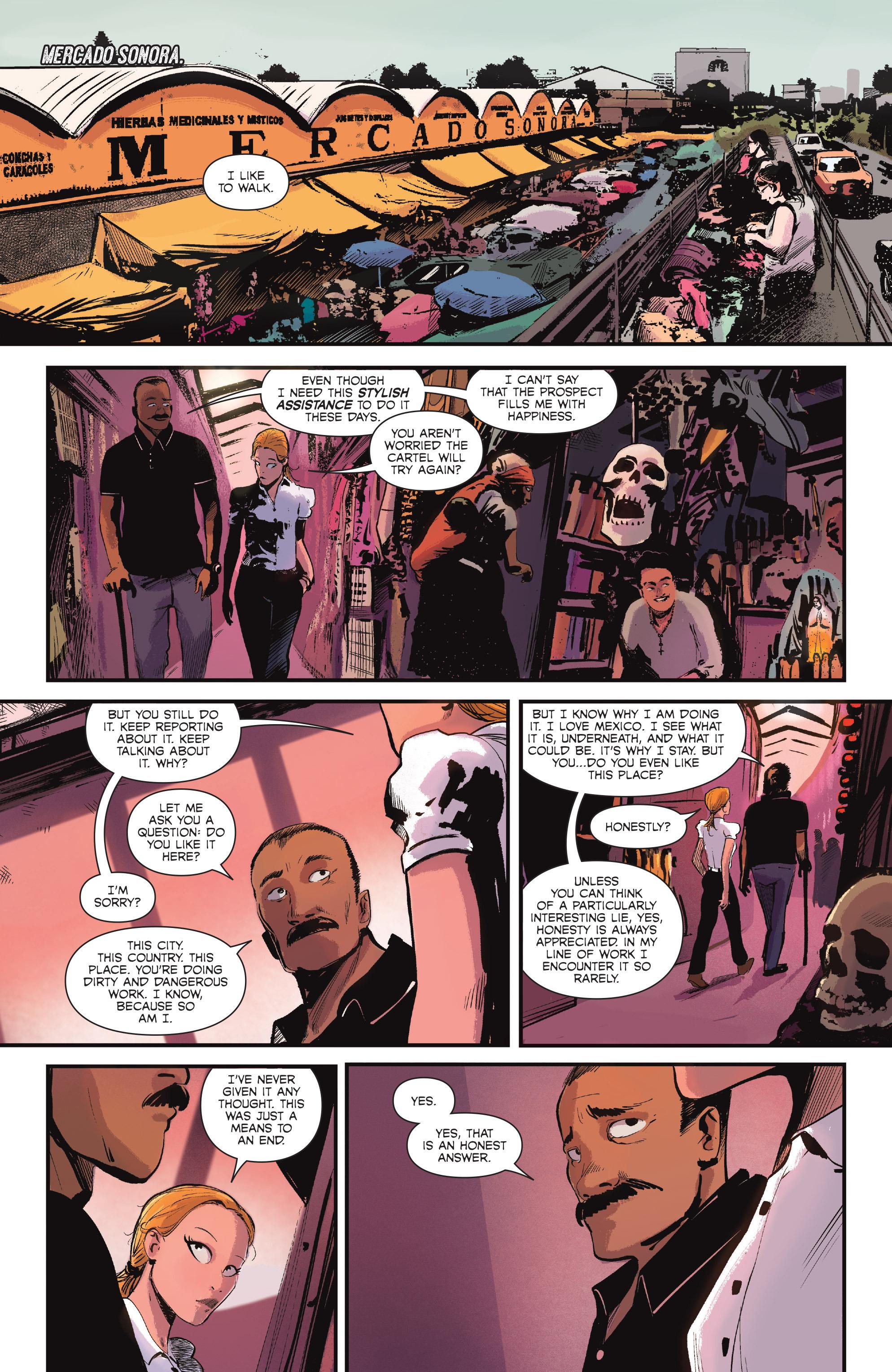 Read online Sombra comic -  Issue #1 - 17