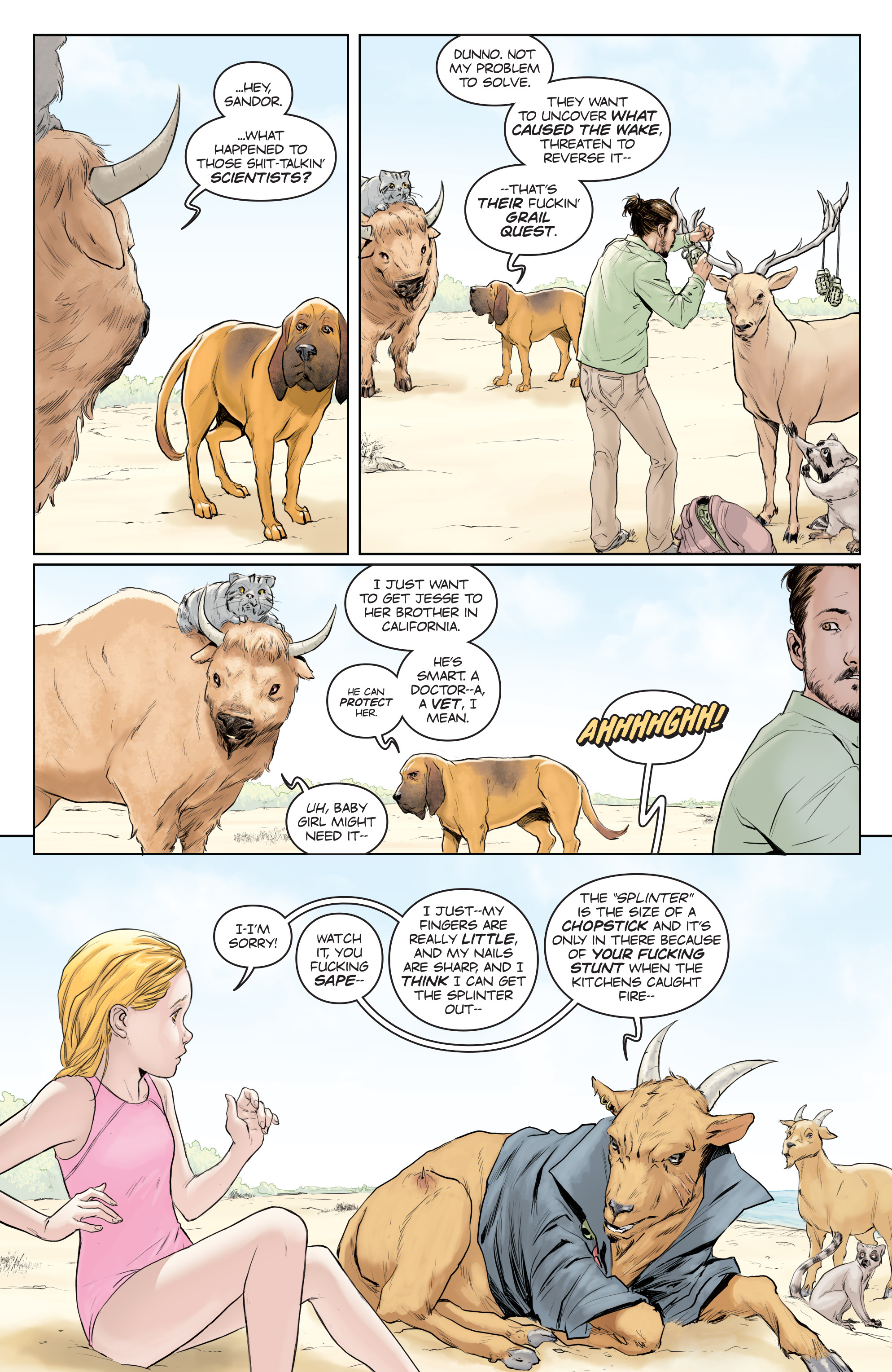 Read online Animosity comic -  Issue #5 - 7