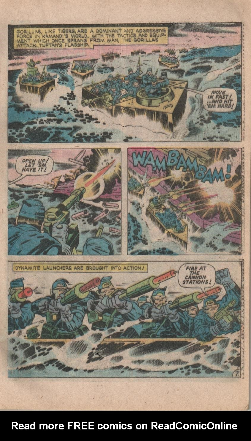 Kamandi, The Last Boy On Earth issue 32 - Page 9