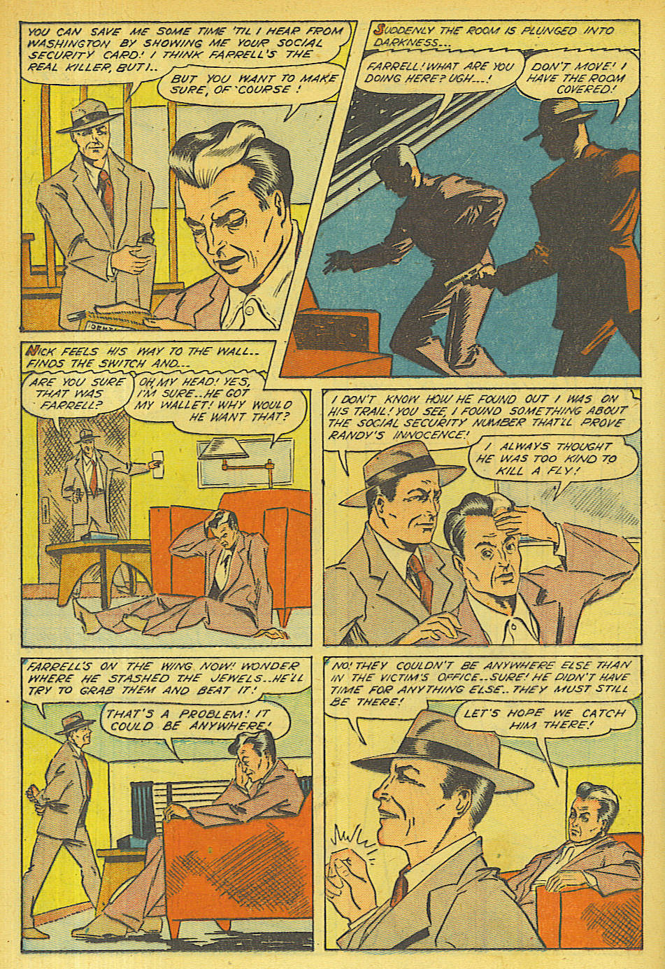 Read online Shadow Comics comic -  Issue #63 - 18
