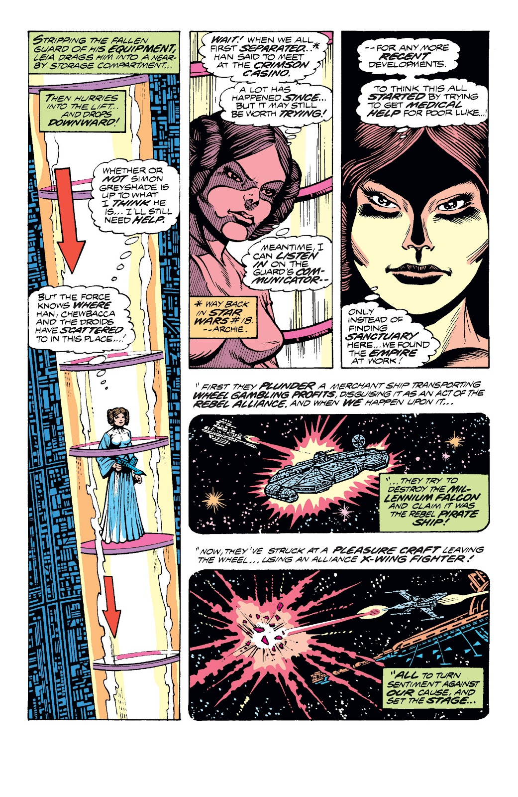 Read online Star Wars Legends: The Original Marvel Years - Epic Collection comic -  Issue # TPB 1 (Part 4) - 71