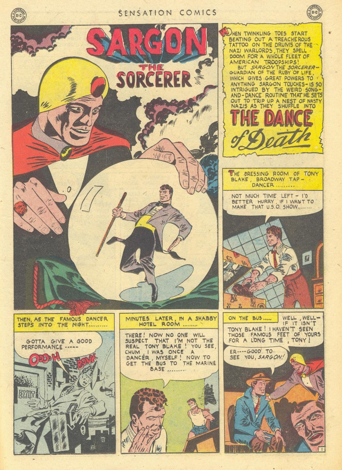 Read online Sensation (Mystery) Comics comic -  Issue #35 - 17