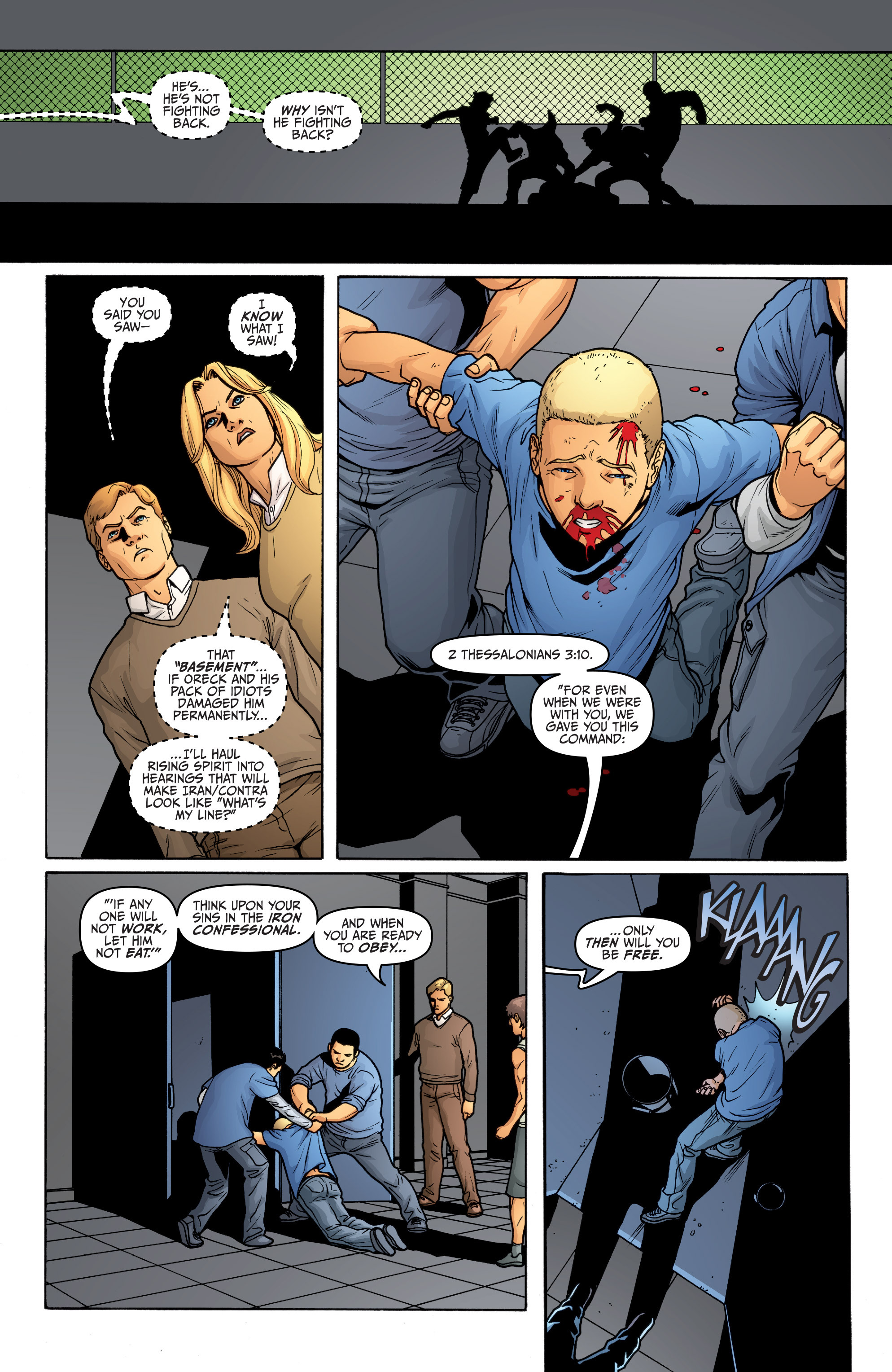 Read online Archer and Armstrong comic -  Issue #Archer and Armstrong _TPB 5 - 24