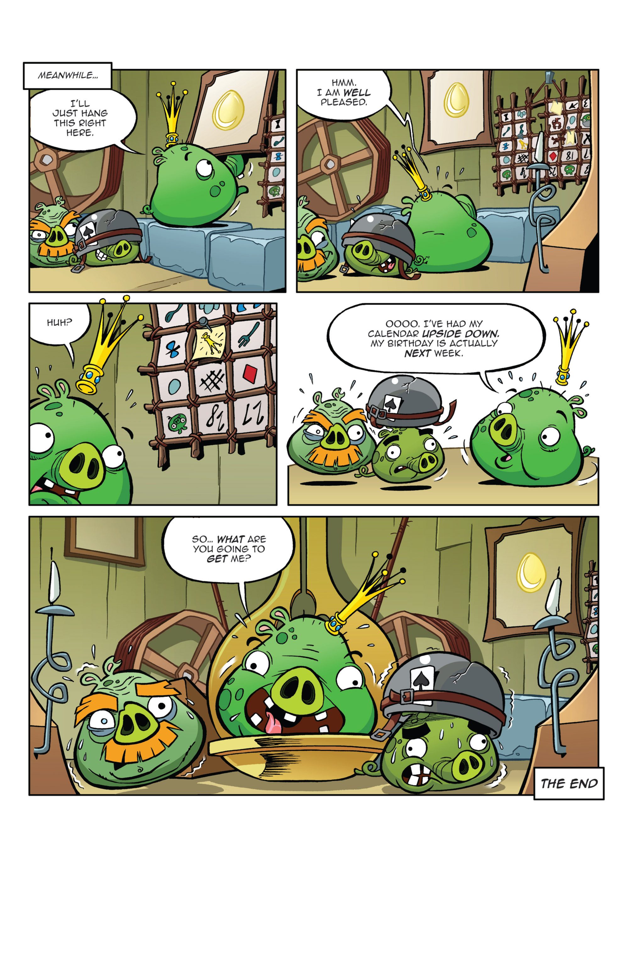 Read online Angry Birds Comics (2014) comic -  Issue #4 - 22