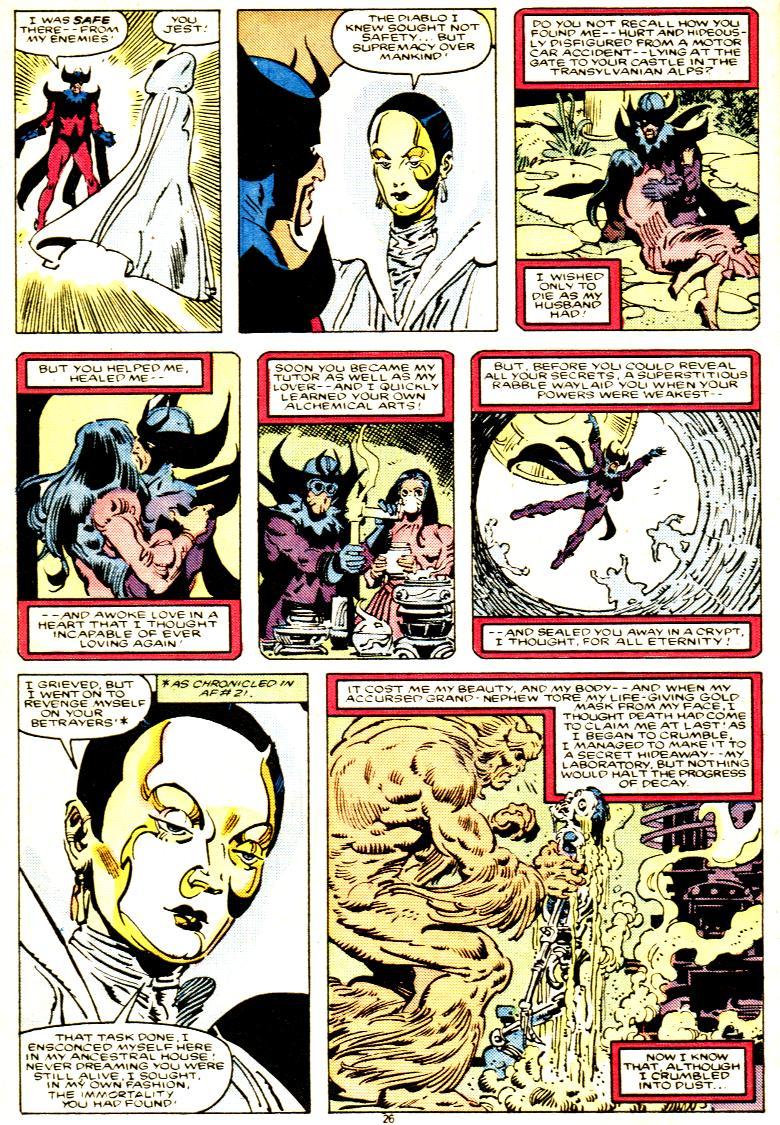 Read online Alpha Flight (1983) comic -  Issue # _Annual 1 - 27