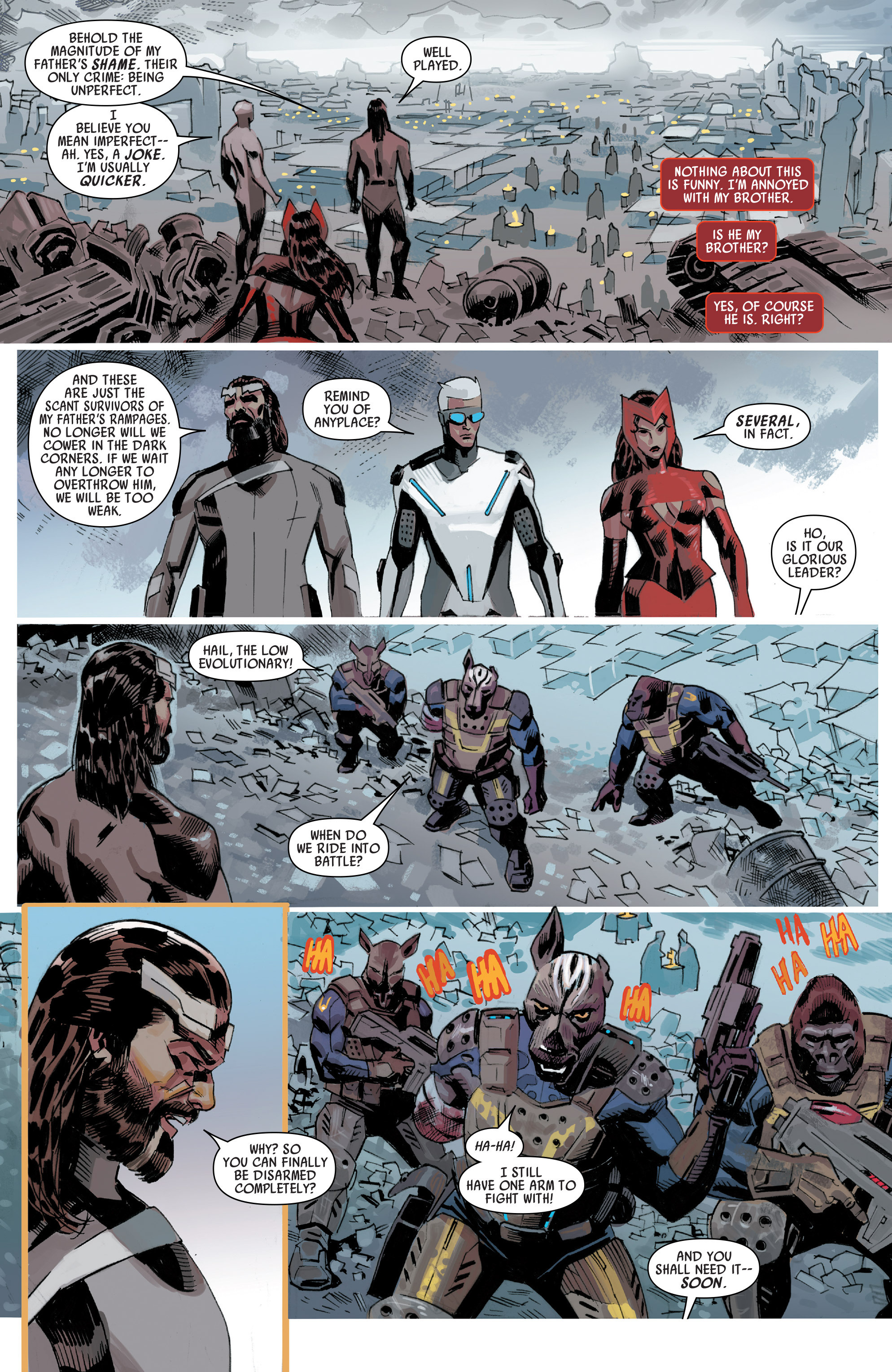 Read online Uncanny Avengers [I] comic -  Issue #3 - 10