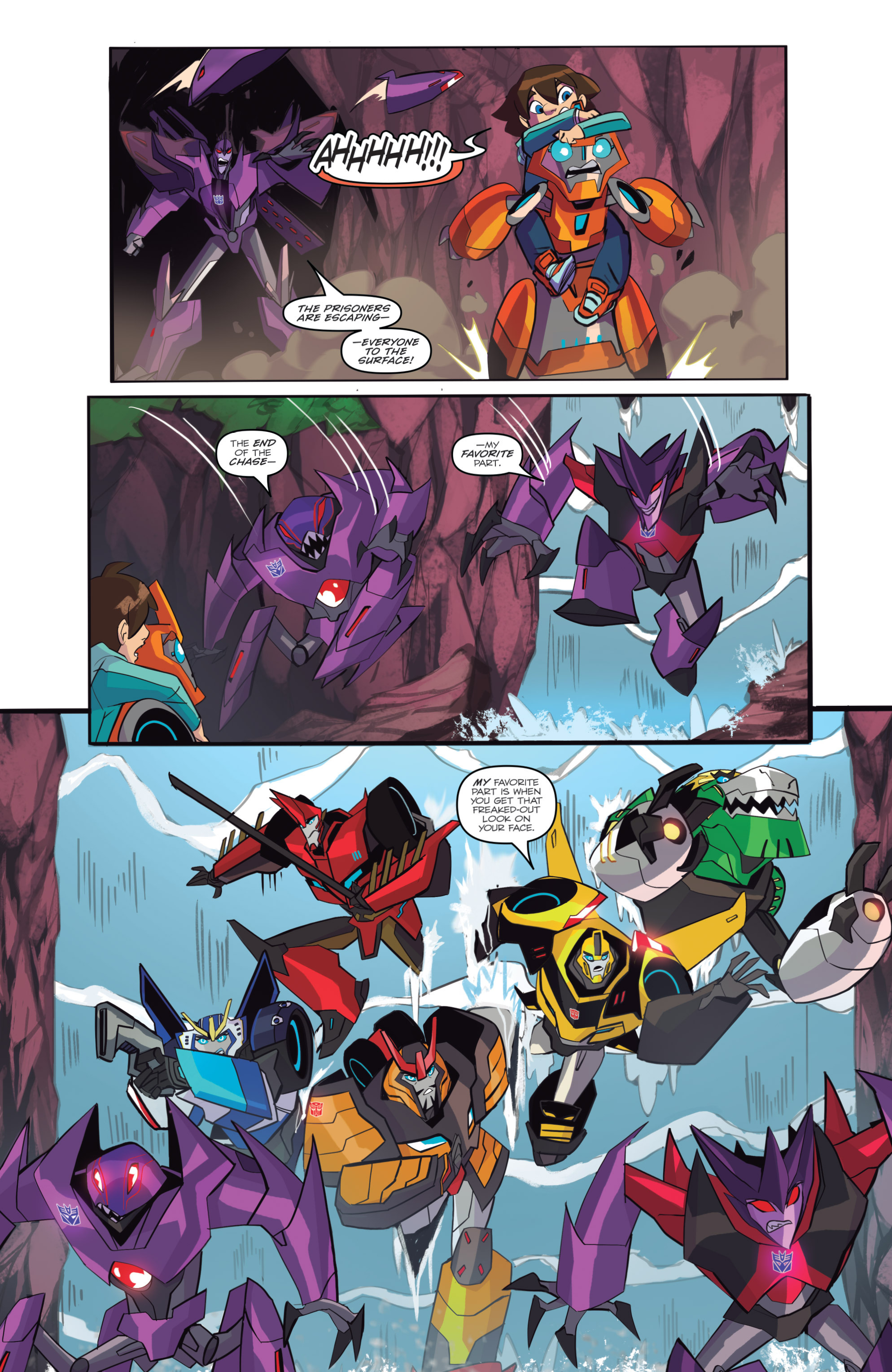 Read online Transformers: Robots In Disguise (2015) comic -  Issue #6 - 14
