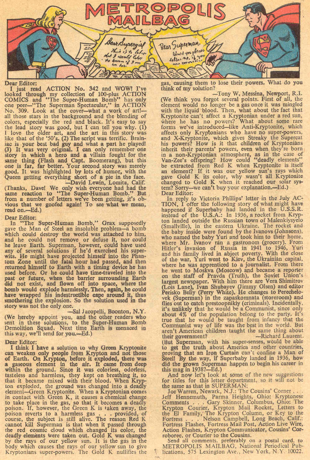 Read online Action Comics (1938) comic -  Issue #345 - 33