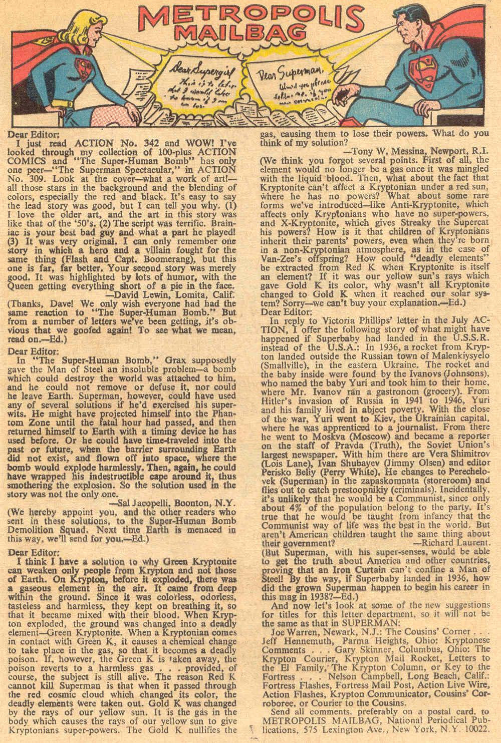Action Comics (1938) 345 Page 32
