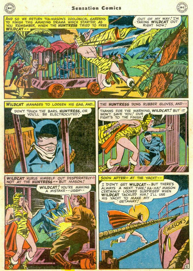 Read online Sensation (Mystery) Comics comic -  Issue #75 - 47