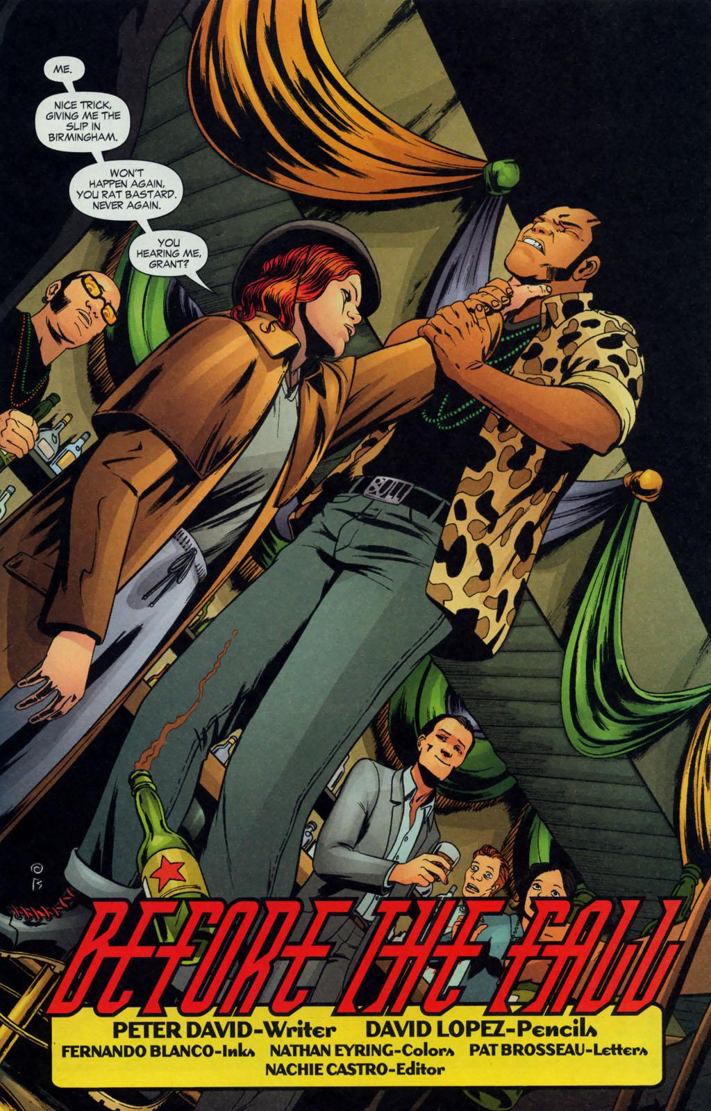 Read online Fallen Angel (2003) comic -  Issue #12 - 4