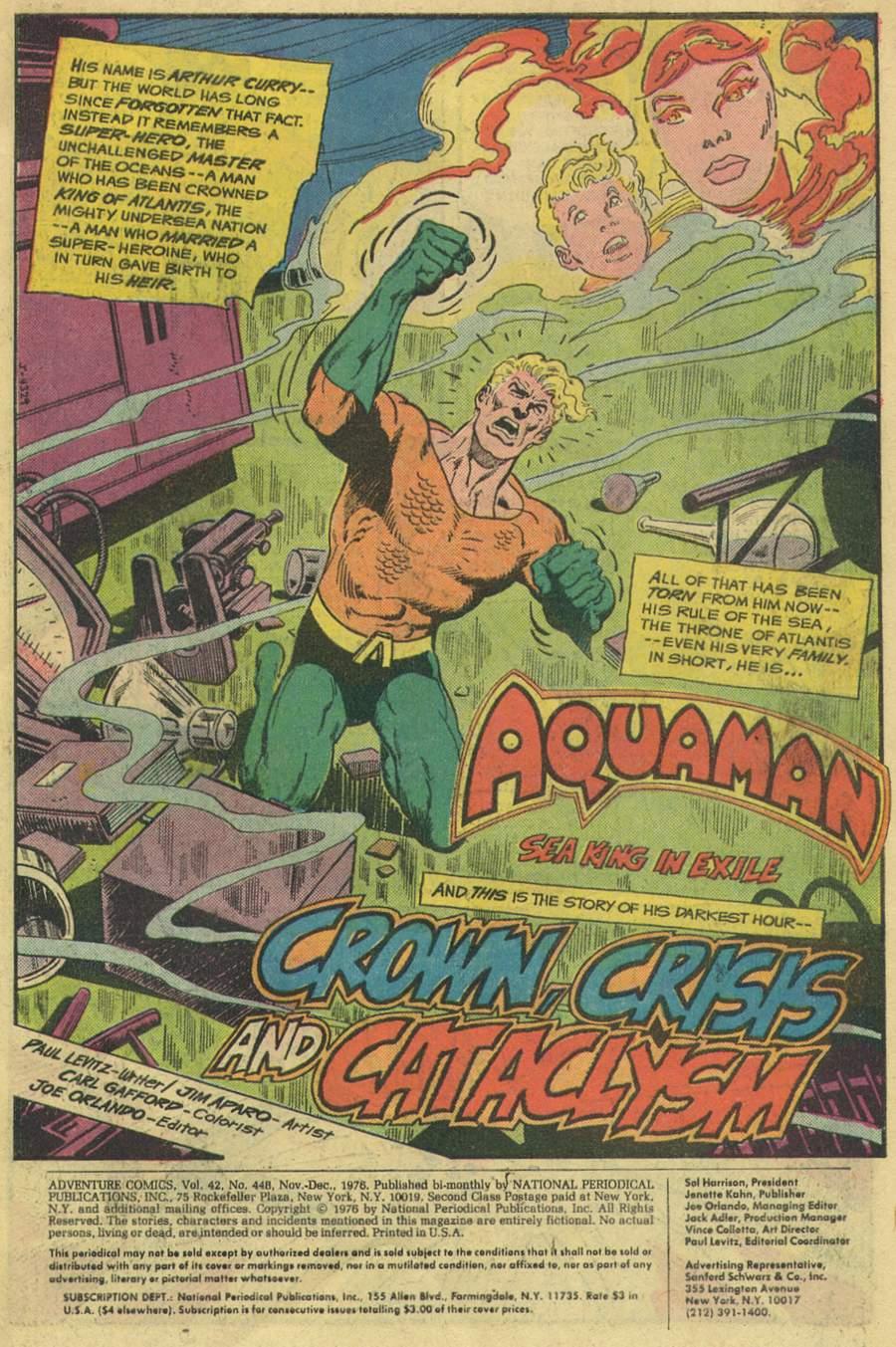 Read online Adventure Comics (1938) comic -  Issue #448 - 3