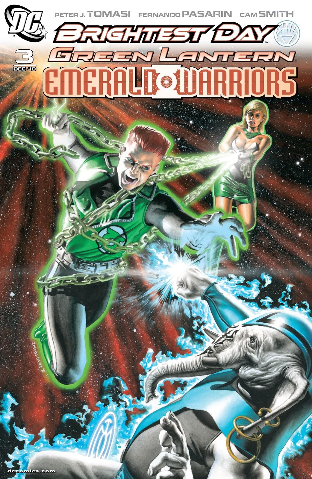 Green Lantern: Emerald Warriors 3 Page 1