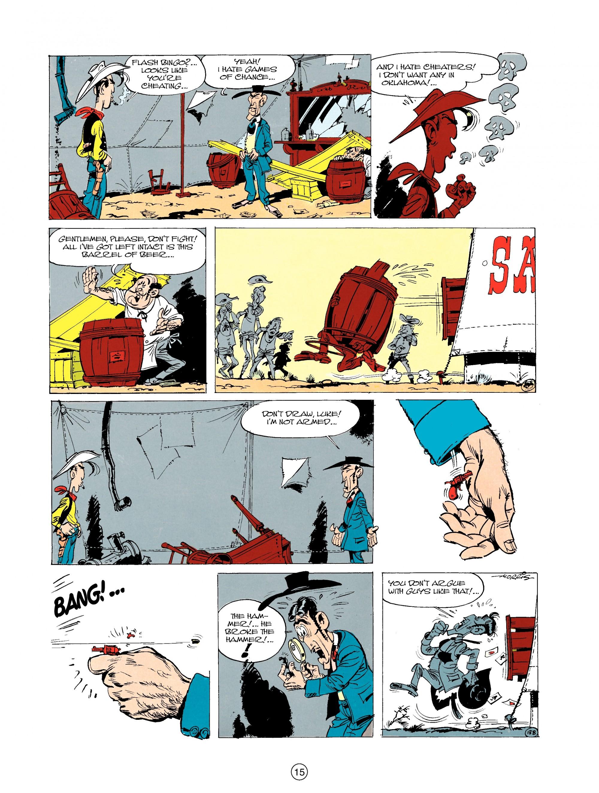 Read online A Lucky Luke Adventure comic -  Issue #20 - 15