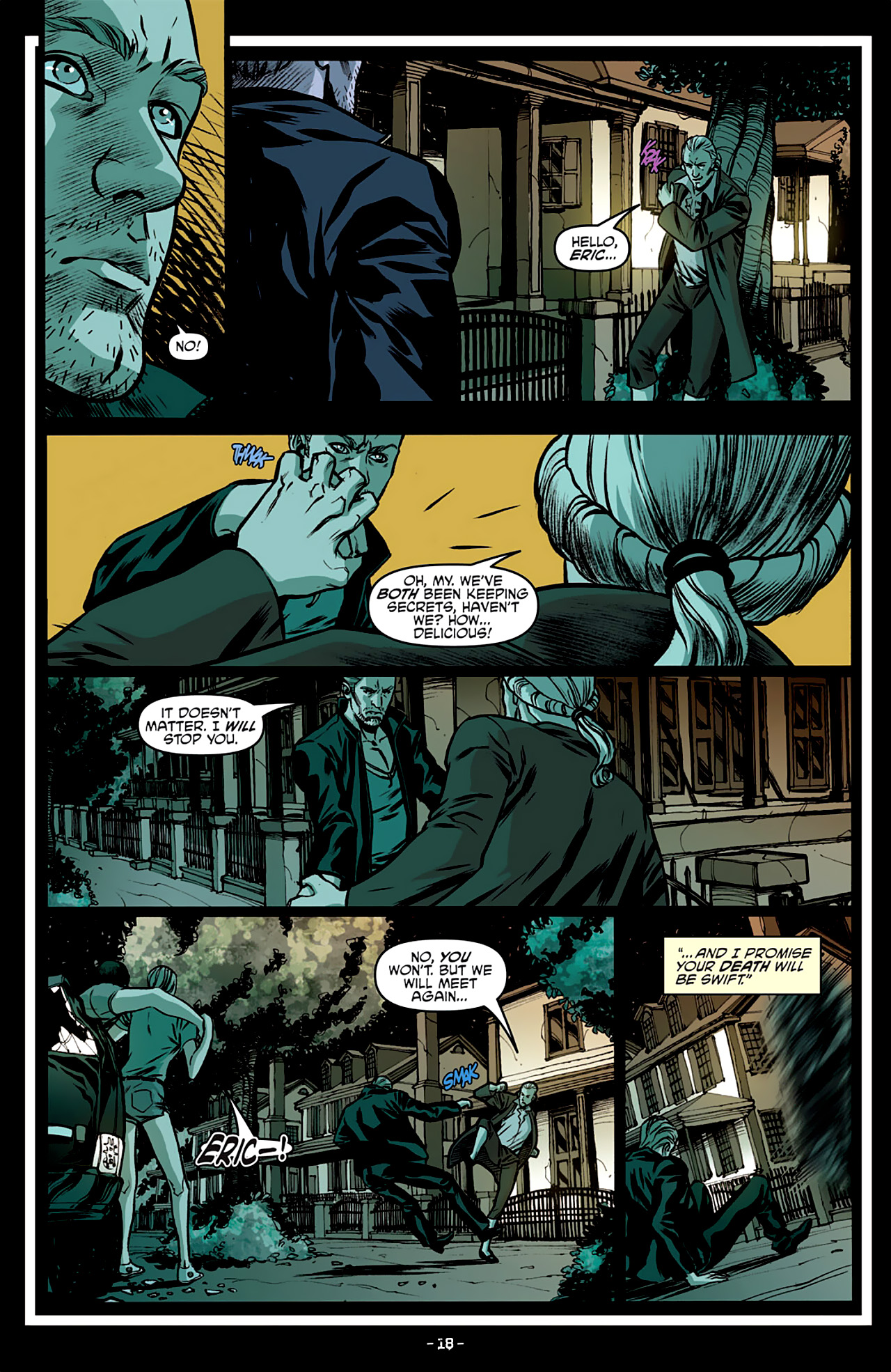Read online True Blood: French Quarter comic -  Issue #3 - 22