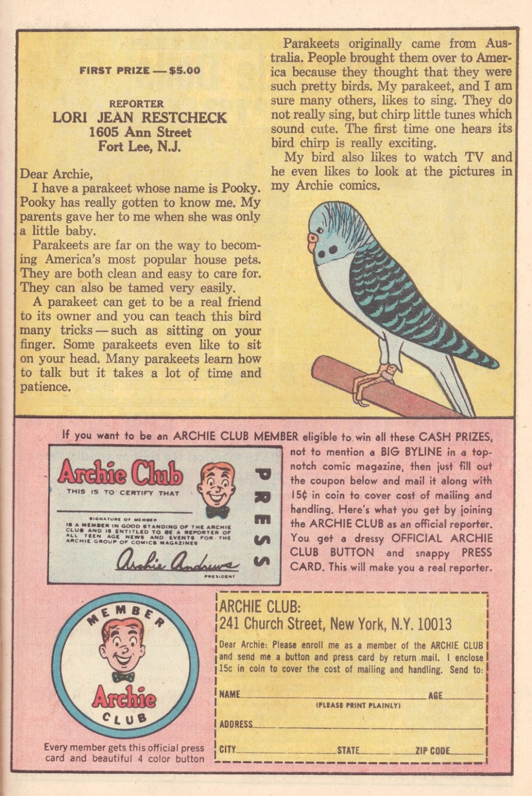 Read online Archie (1960) comic -  Issue #163 - 27