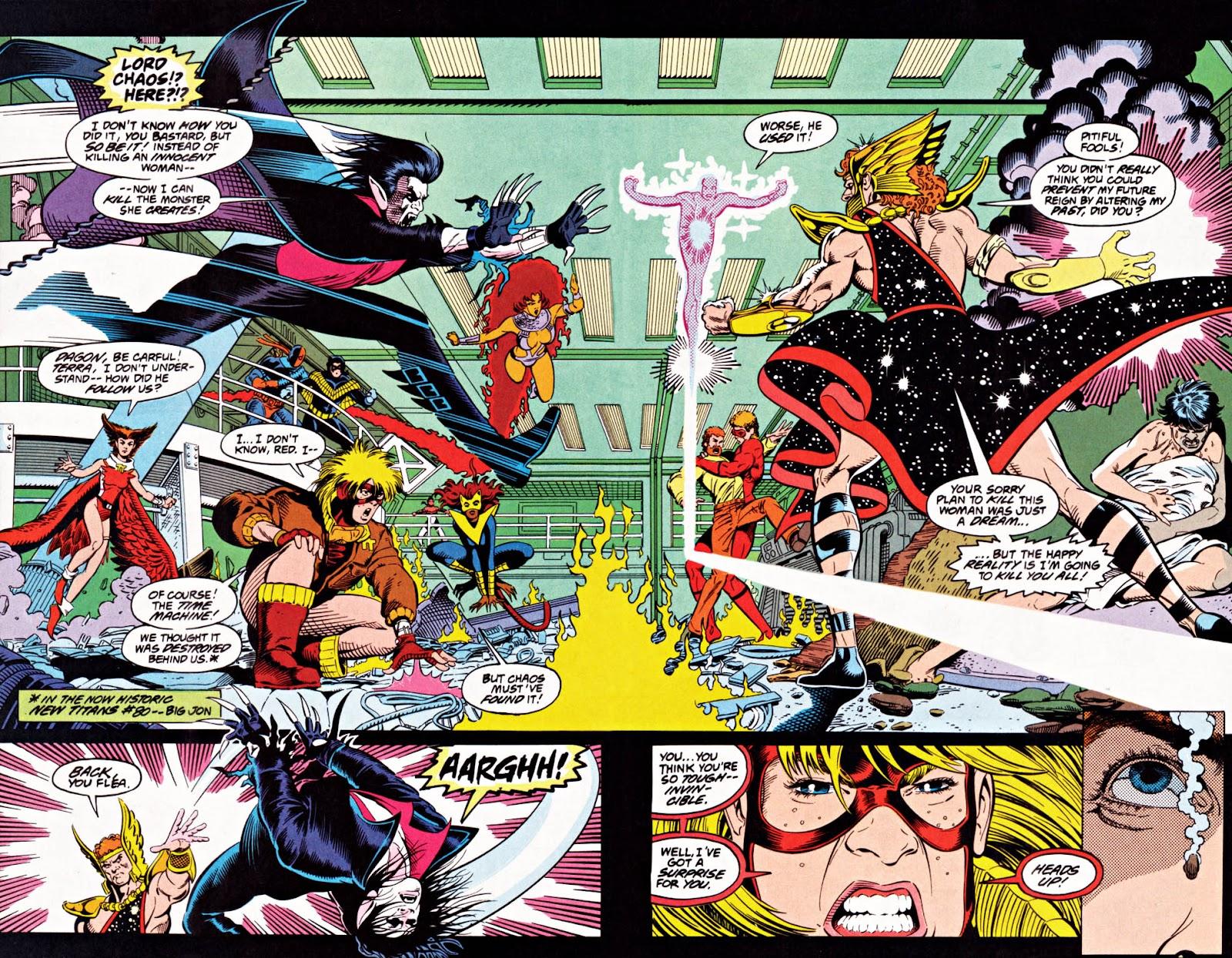 Read online Team Titans comic -  Issue #1e - 22