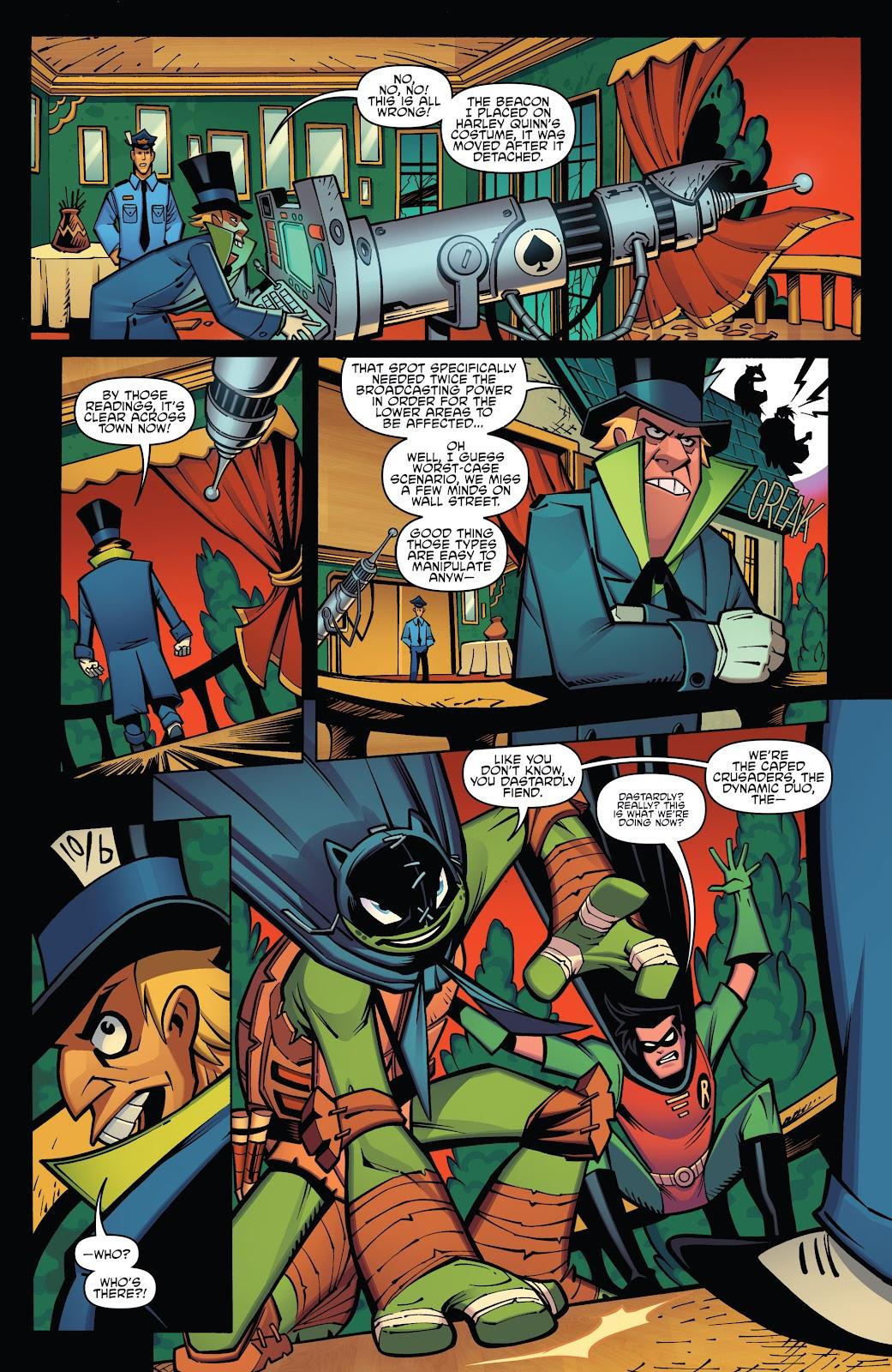 batman teenage mutant ninja turtles adventure issue 5. Black Bedroom Furniture Sets. Home Design Ideas