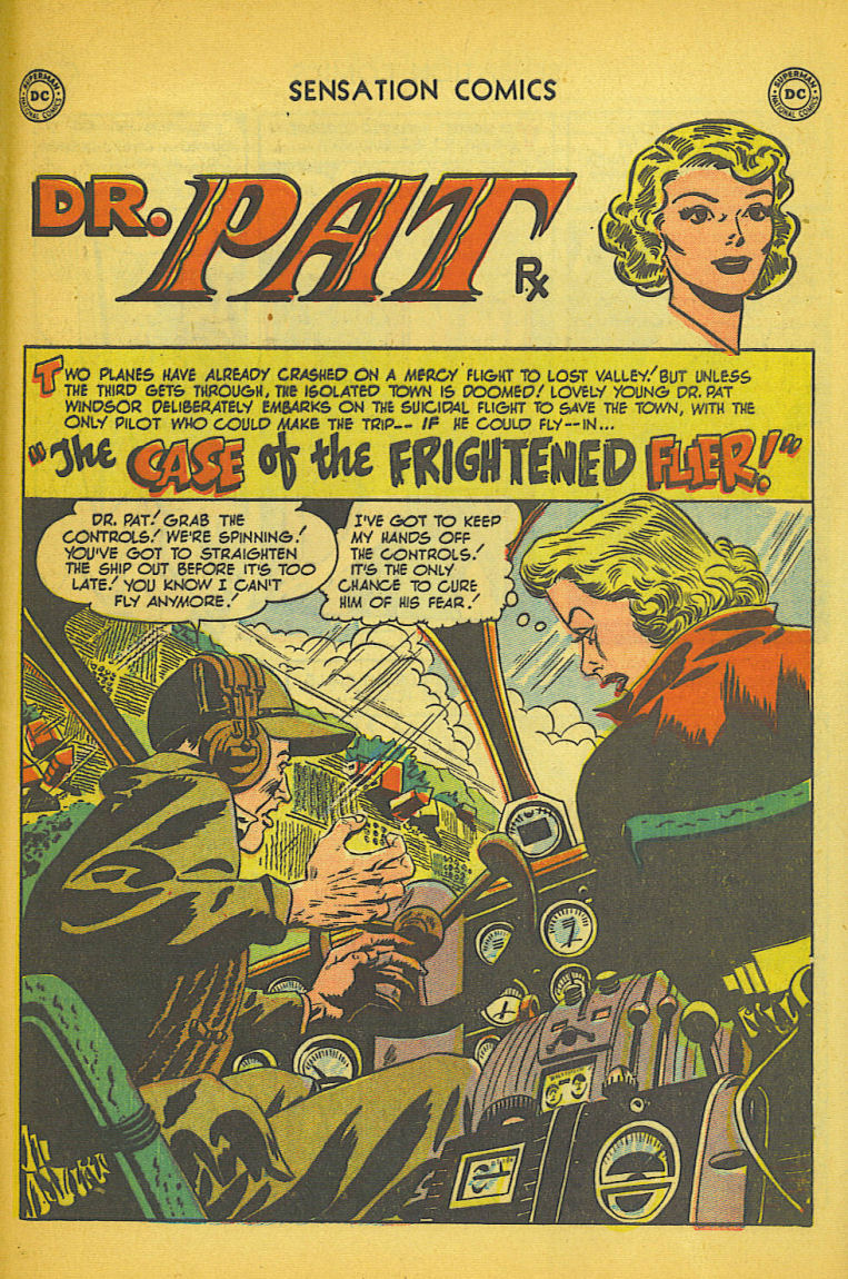 Read online Sensation (Mystery) Comics comic -  Issue #104 - 41
