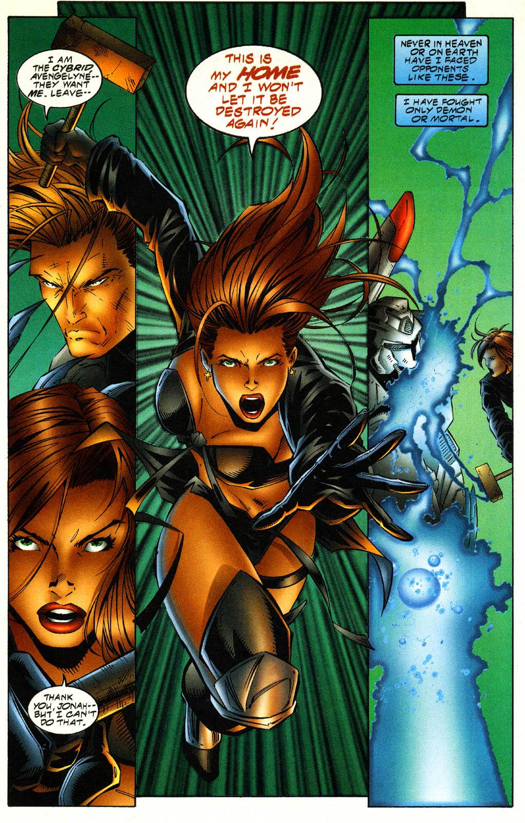 Read online Avengelyne (1996) comic -  Issue #4 - 17