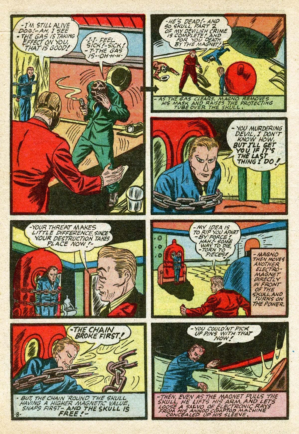 Read online Amazing Man Comics comic -  Issue #8 - 28