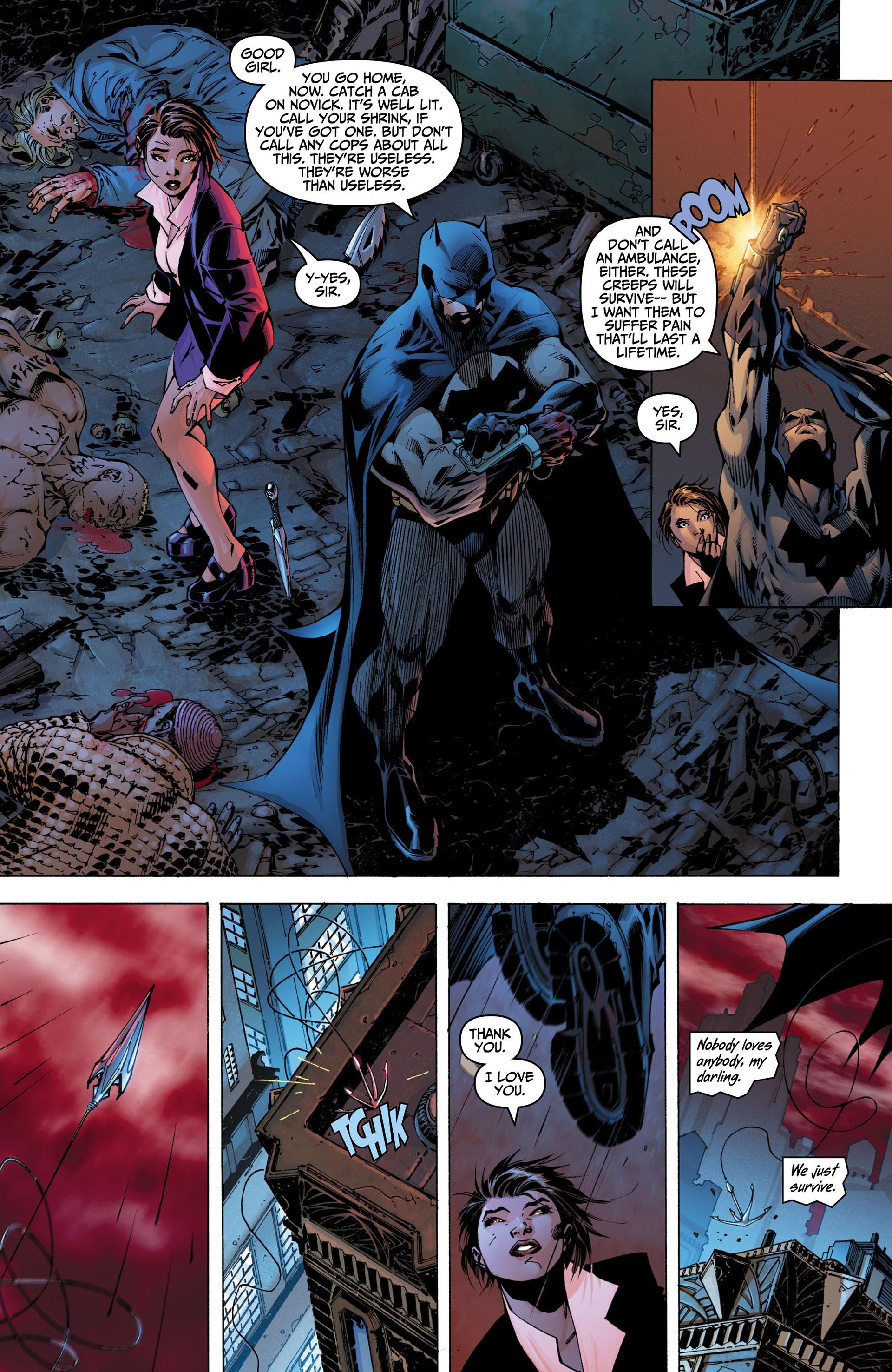 Read online All Star Batman & Robin, The Boy Wonder comic -  Issue #5 - 16