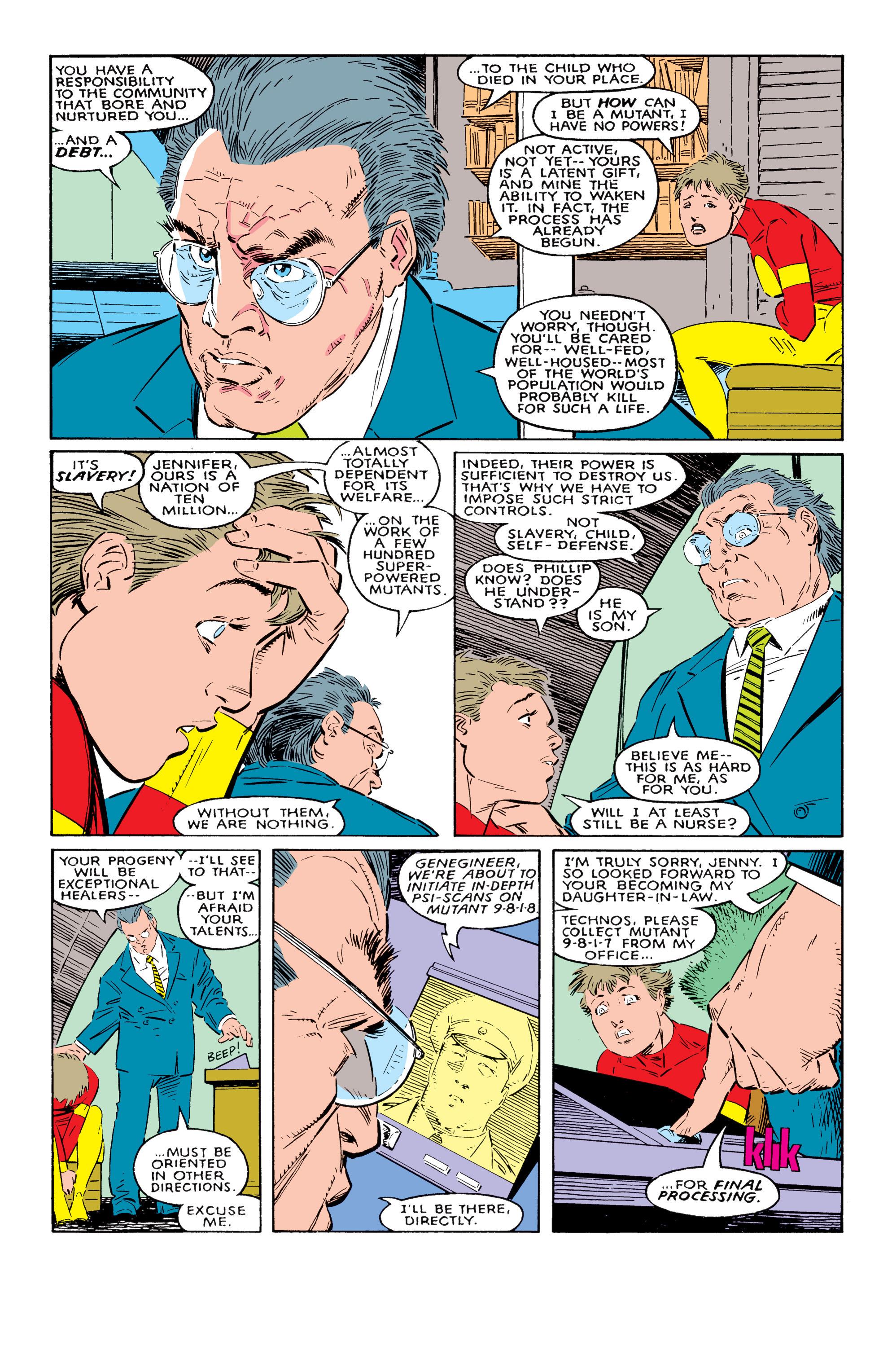 Read online Uncanny X-Men (1963) comic -  Issue #237 - 14