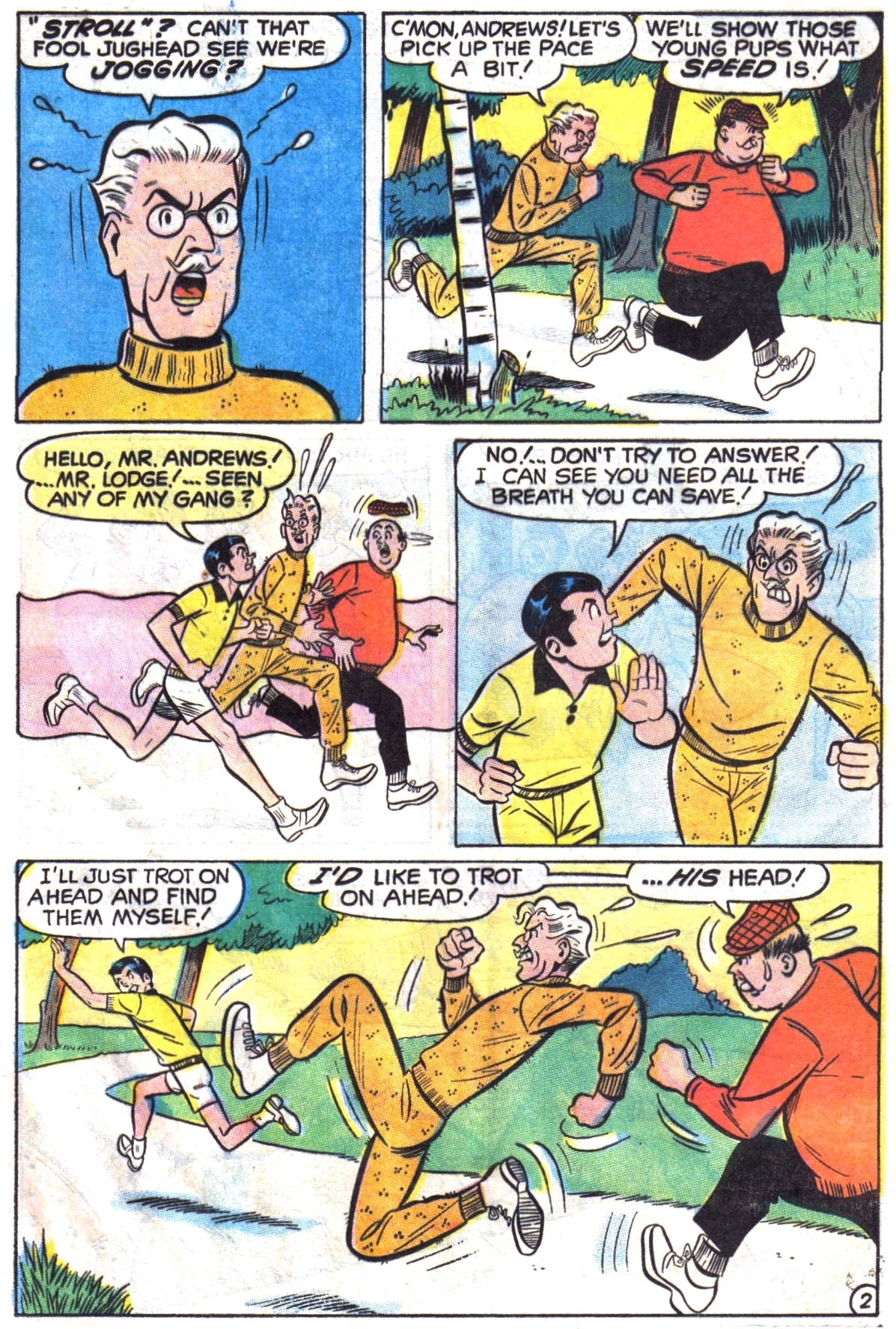 Read online Archie (1960) comic -  Issue #195 - 21