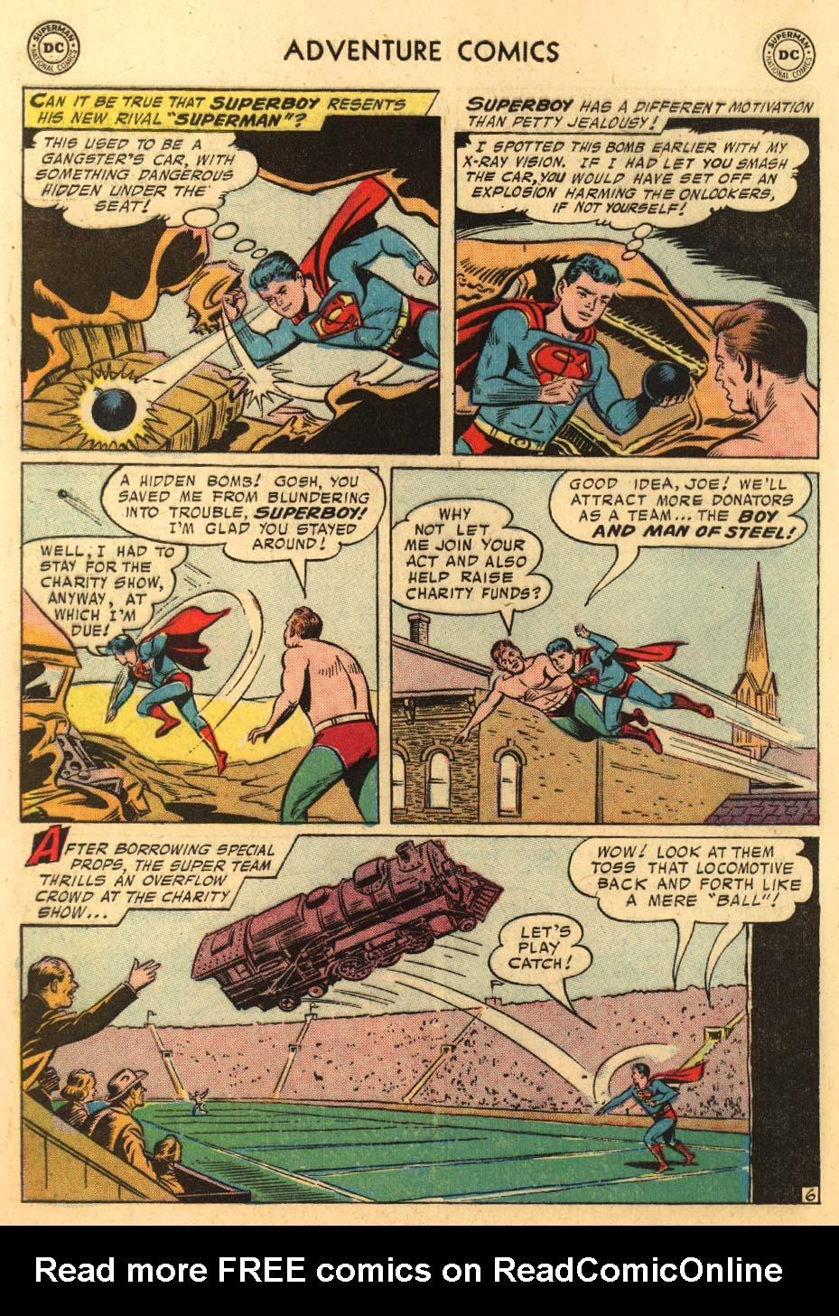 Read online Adventure Comics (1938) comic -  Issue #233 - 8