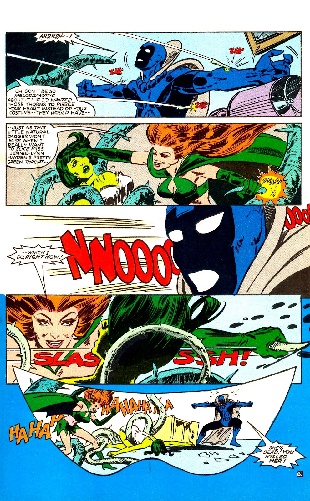 Infinity Inc. (1984) issue Annual 1 - Page 21