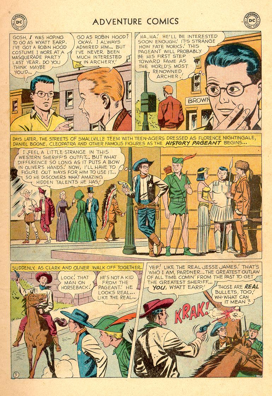 Read online Adventure Comics (1938) comic -  Issue #258 - 7