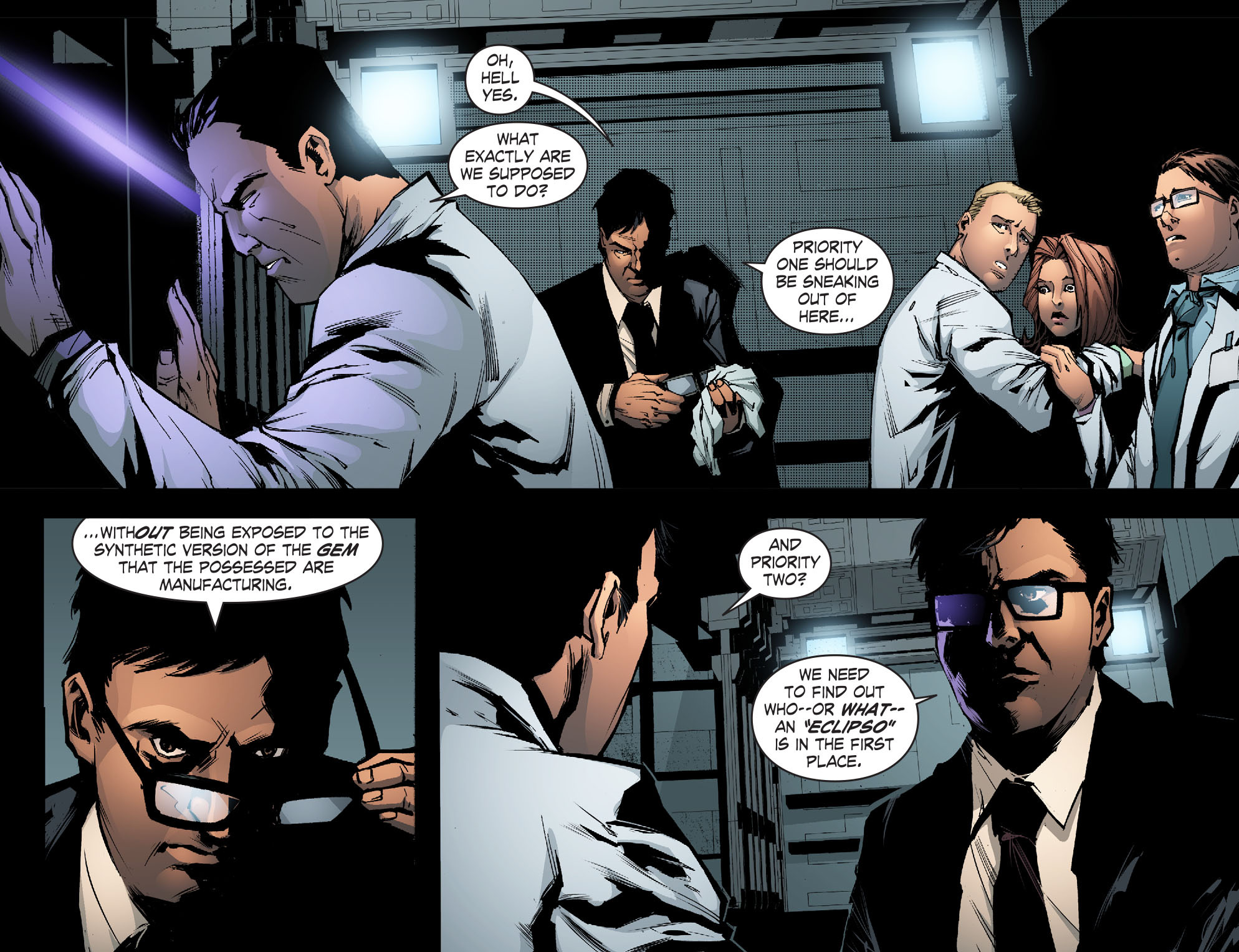 Read online Smallville: Chaos [II] comic -  Issue #5 - 5