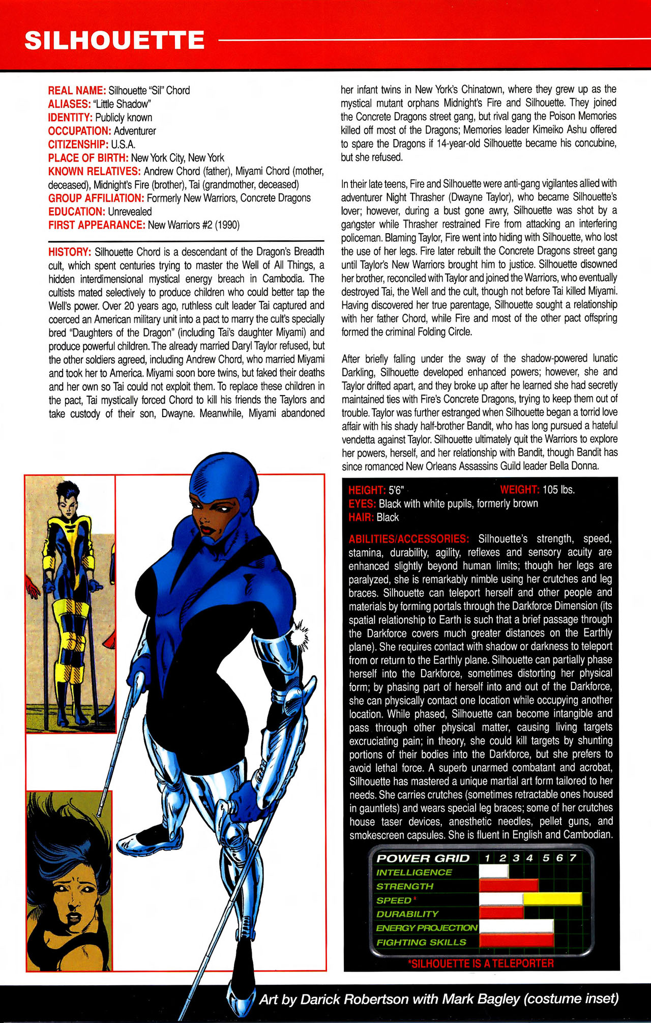 Read online All-New Official Handbook of the Marvel Universe A to Z comic -  Issue #10 - 14