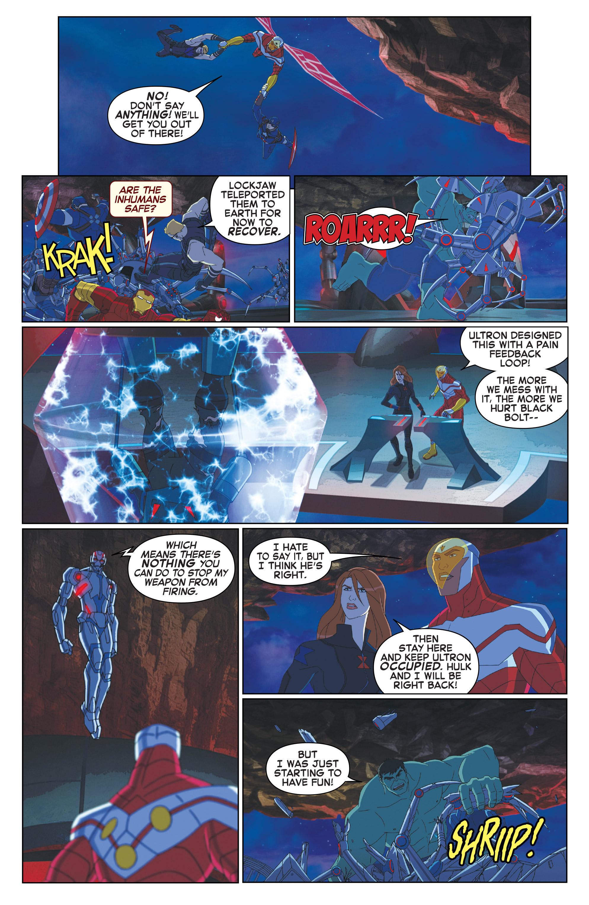 Read online Marvel Universe Avengers: Ultron Revolution comic -  Issue #10 - 15