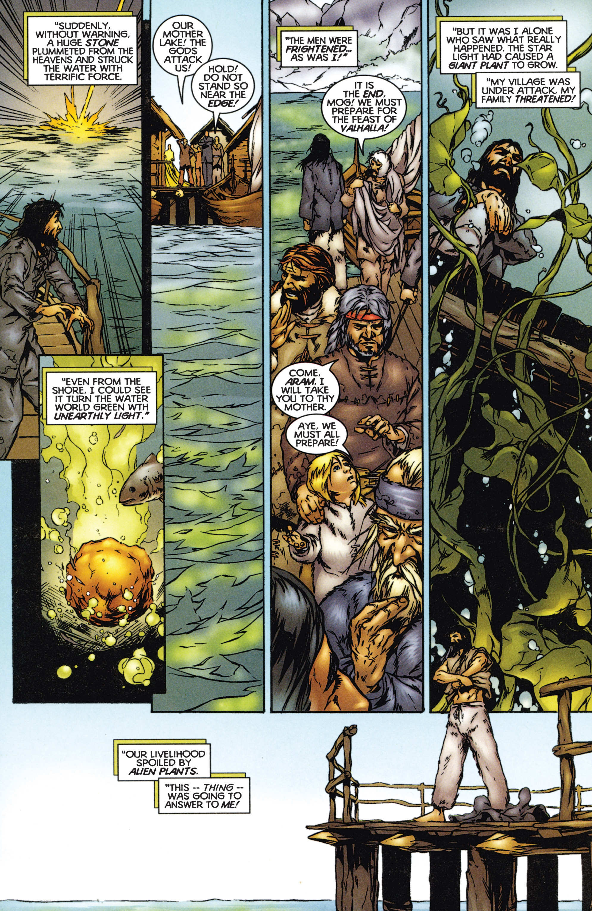 Read online Eternal Warriors comic -  Issue # Issue The Immortal Enemy - 13