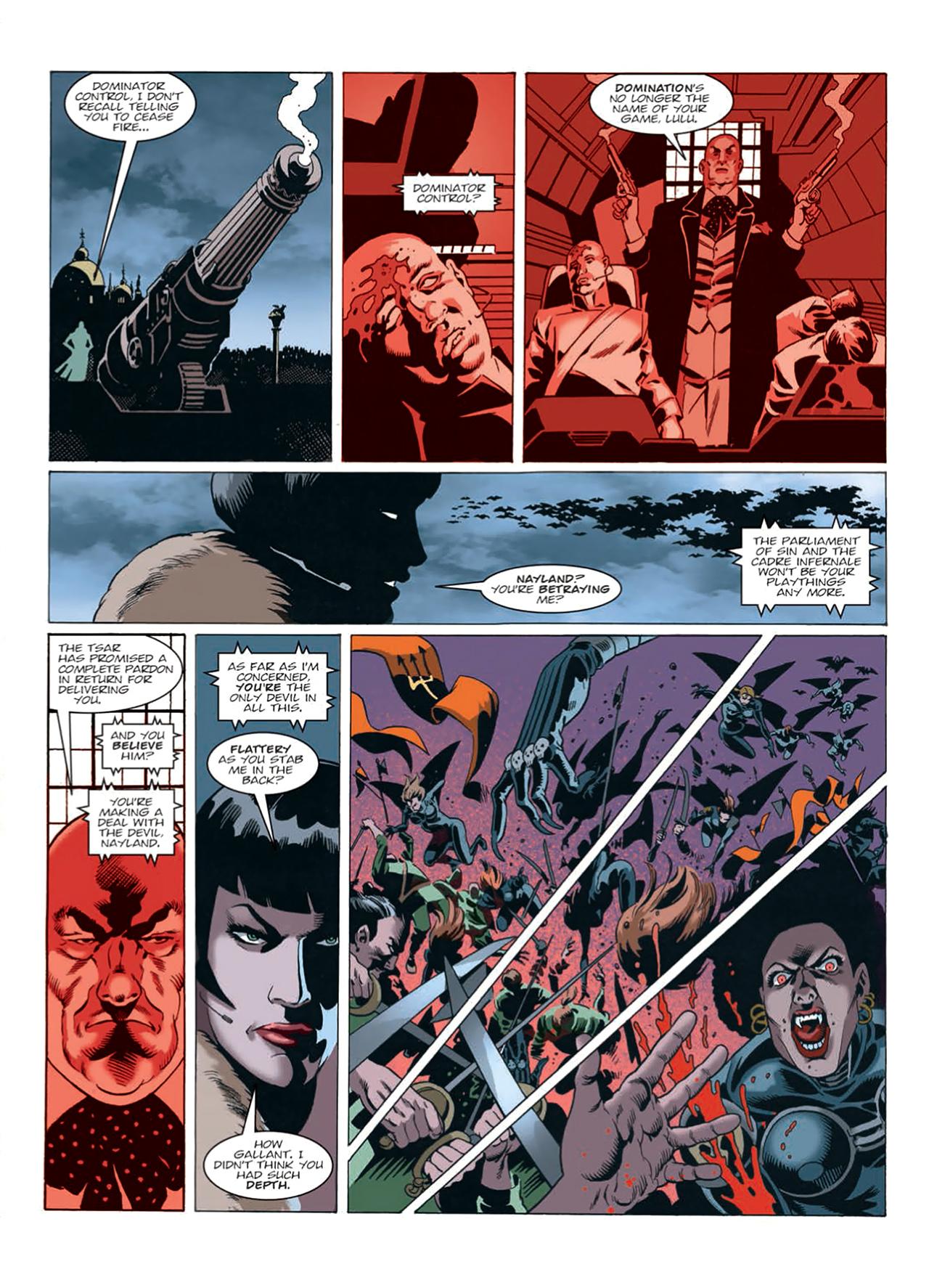 Read online Nikolai Dante comic -  Issue # TPB 9 - 171
