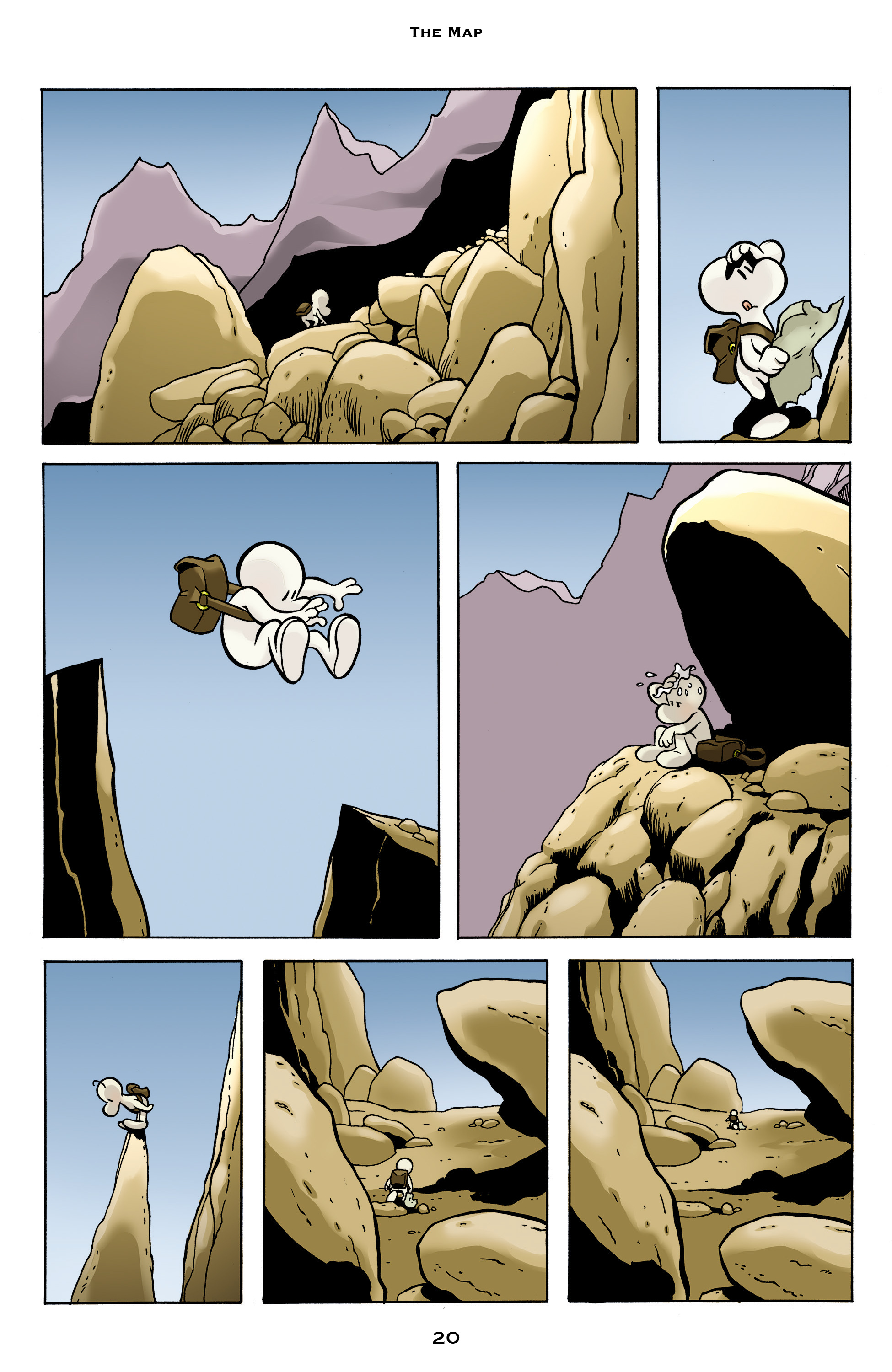Read online Bone: Out From Boneville comic -  Issue # TPB - 20
